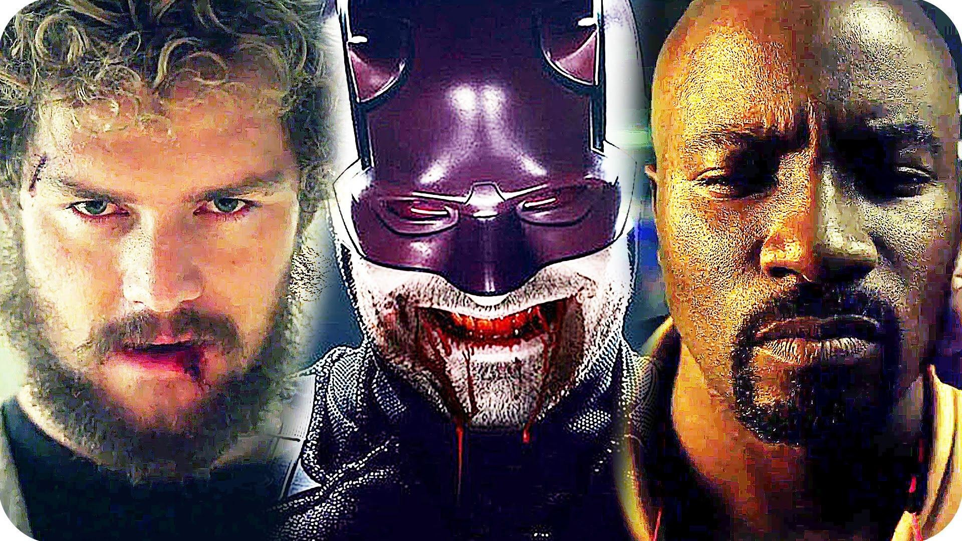 1920x1080 Netflix Has Released A Brief Teaser Trailer For Marvels Upcoming Series The Defenders It Shows Daredevil Jessica Jones Luke Cage