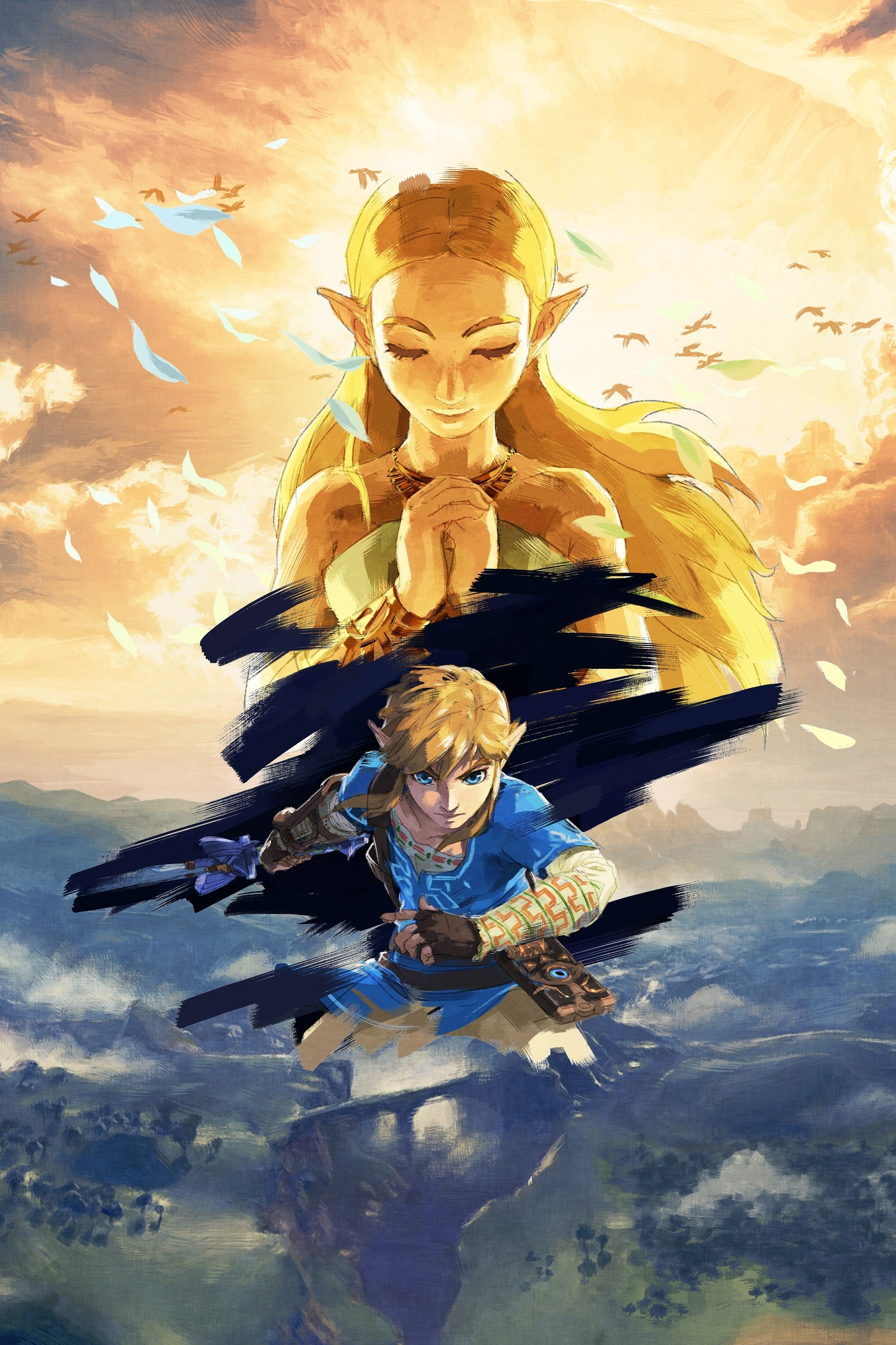 Legend Of Zelda Breath Of The Wild Wallpapers 76 Background Pictures