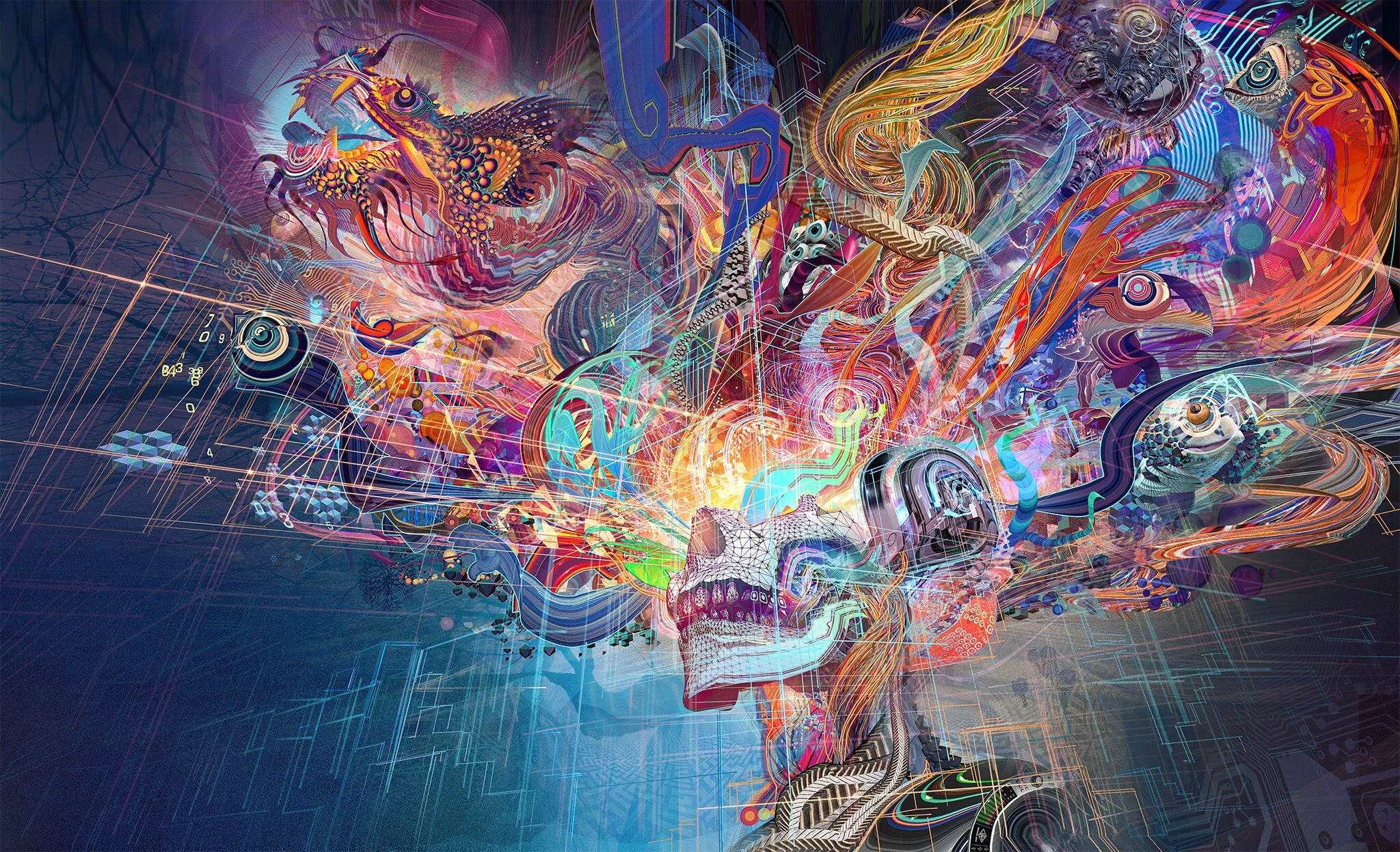 Psychedelic Hd Wallpapers 79 Background Pictures