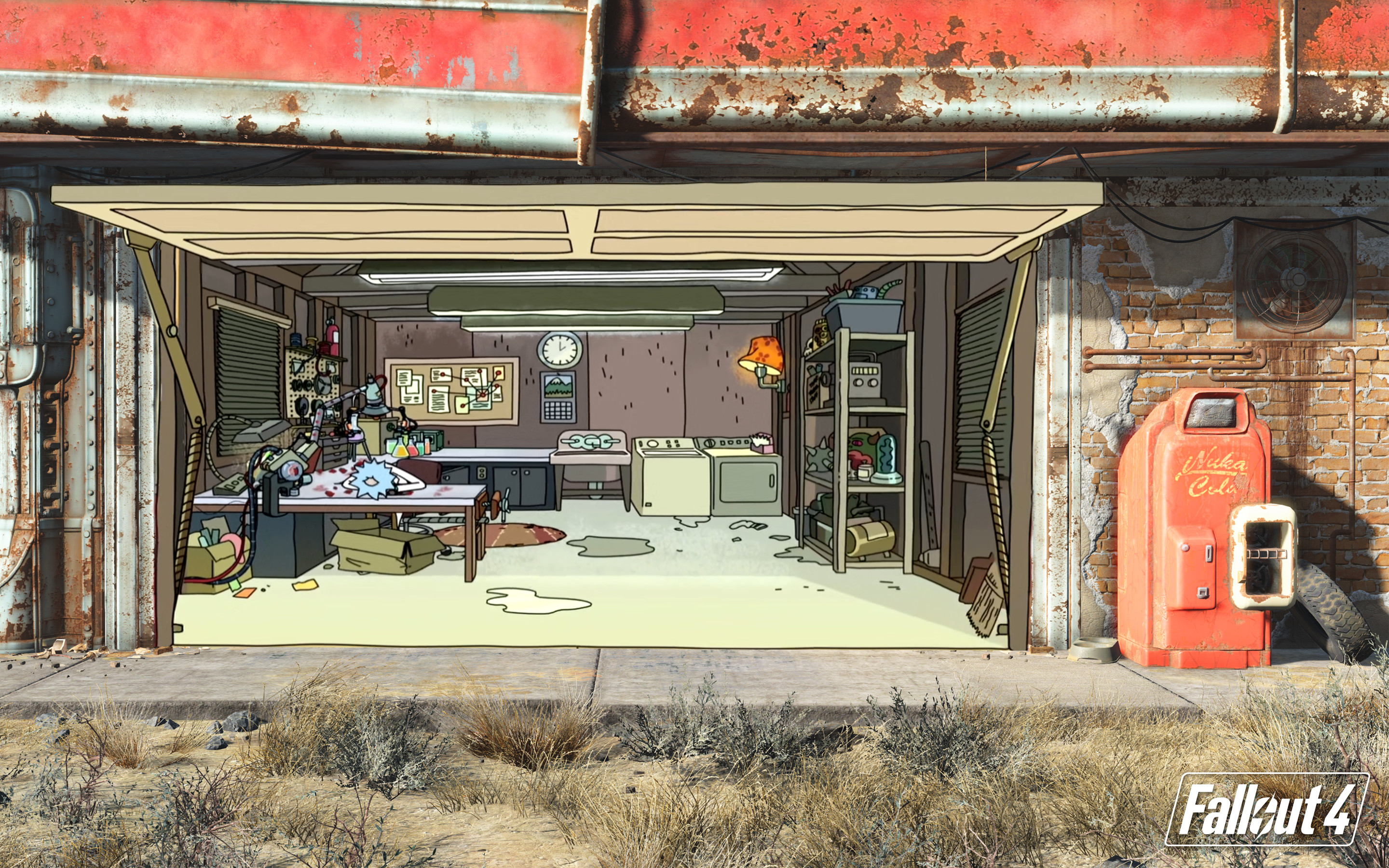 fallout 4 garage wallpapers 86 background pictures