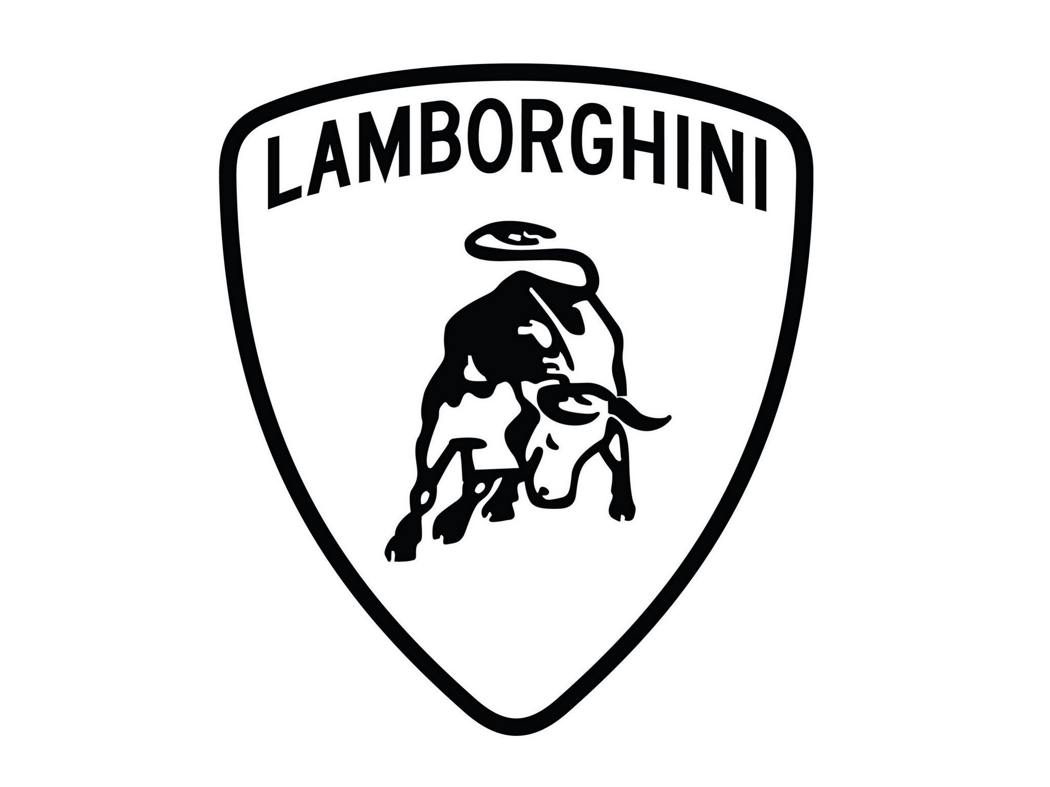 2304x1440 Lamborghini Logo Vector Wallpaper Free Desktop