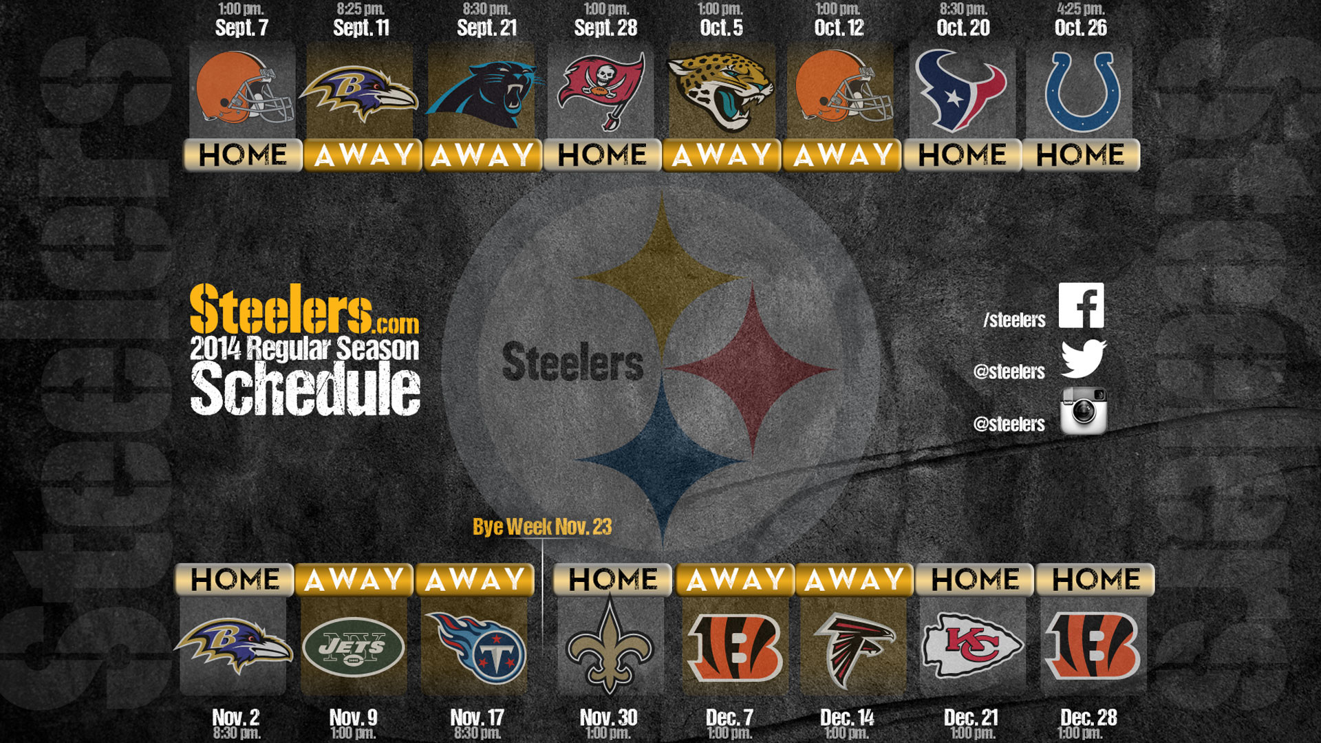 image about Printable Steelers Schedule called Pittsburgh Steelers Wallpapers (71+ historical past photographs)
