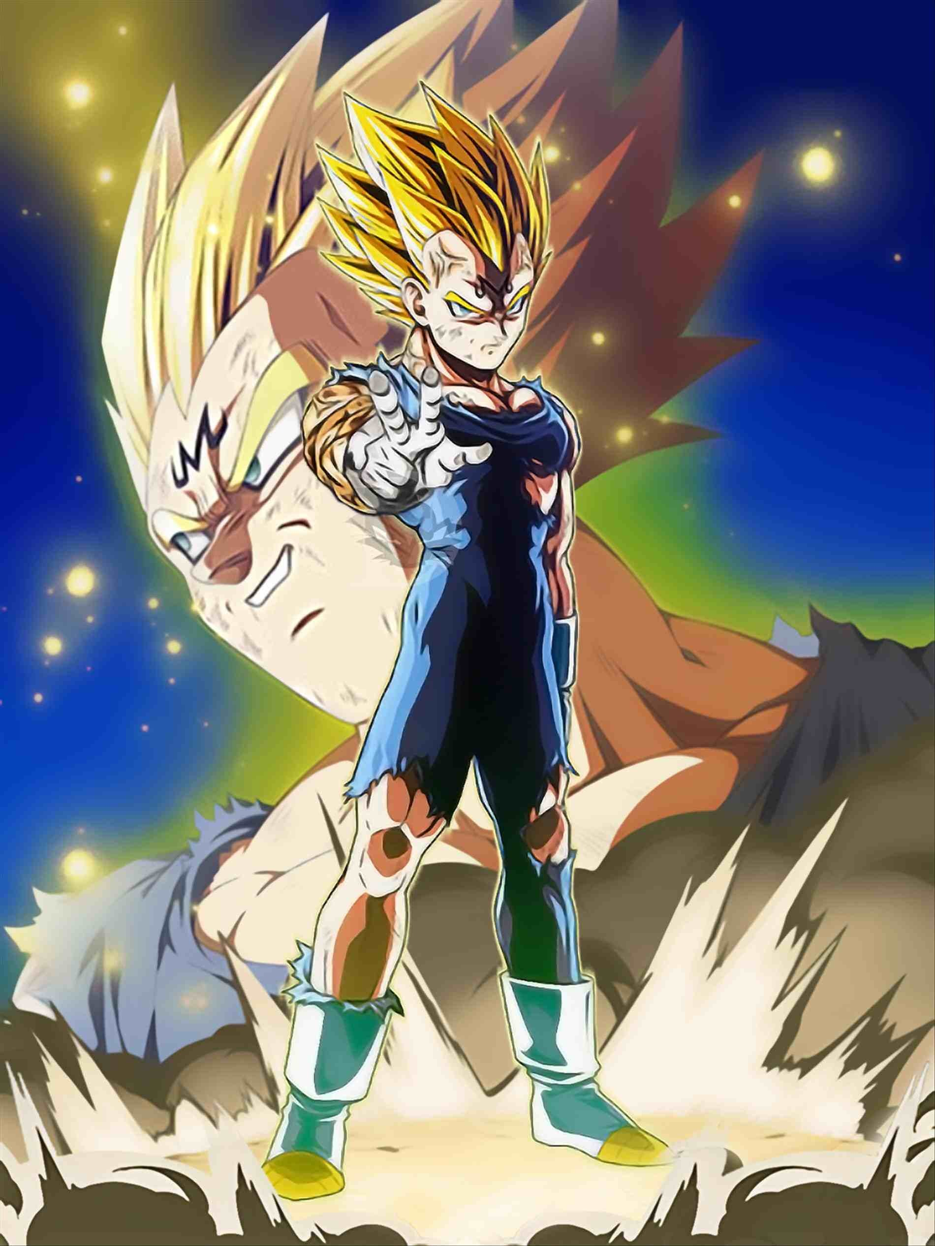 Majin vegeta wallpapers 66 background pictures - Dragon ball z majin vegeta wallpaper ...