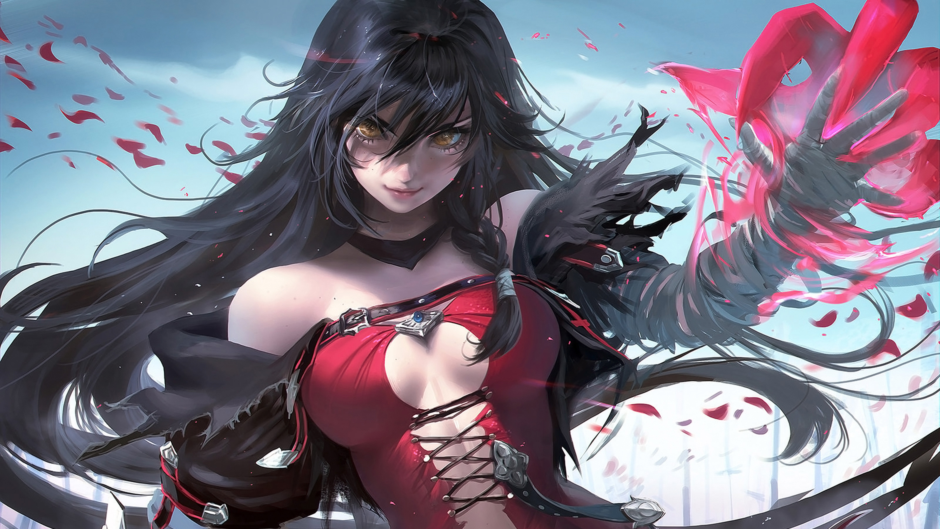 anime girl wallpapers hd (84+ background pictures)