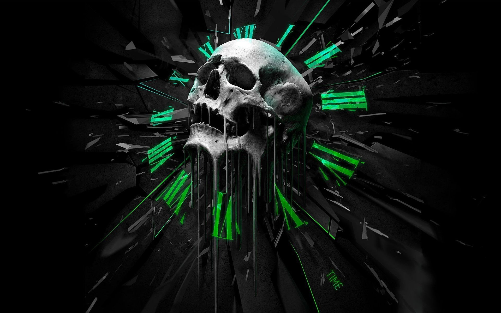 Skull 3d Wallpapers 62 Background Pictures