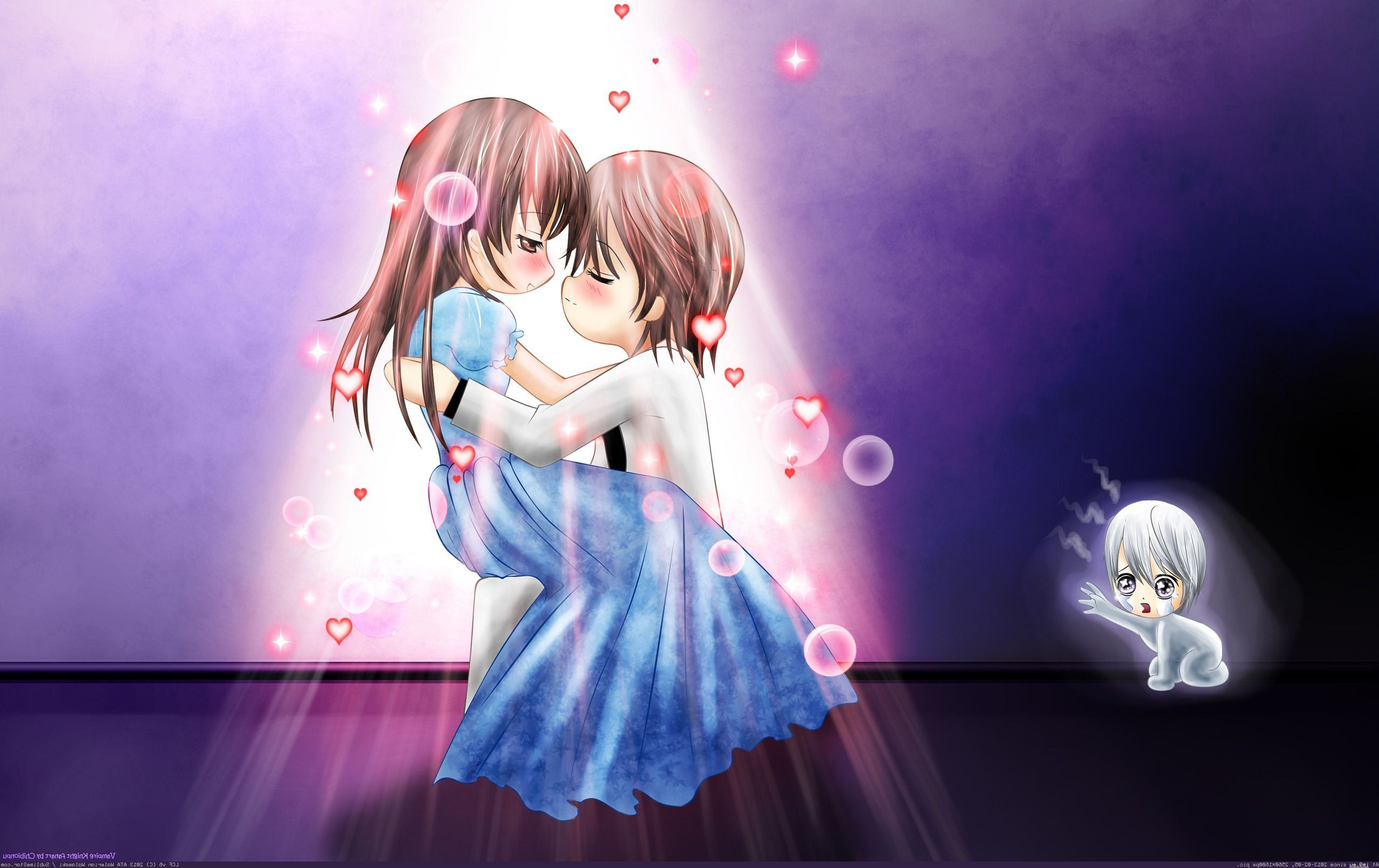 2560x1950 Cute Anime Couples Wallpaper Desktop 1092 Hd Wallpapers