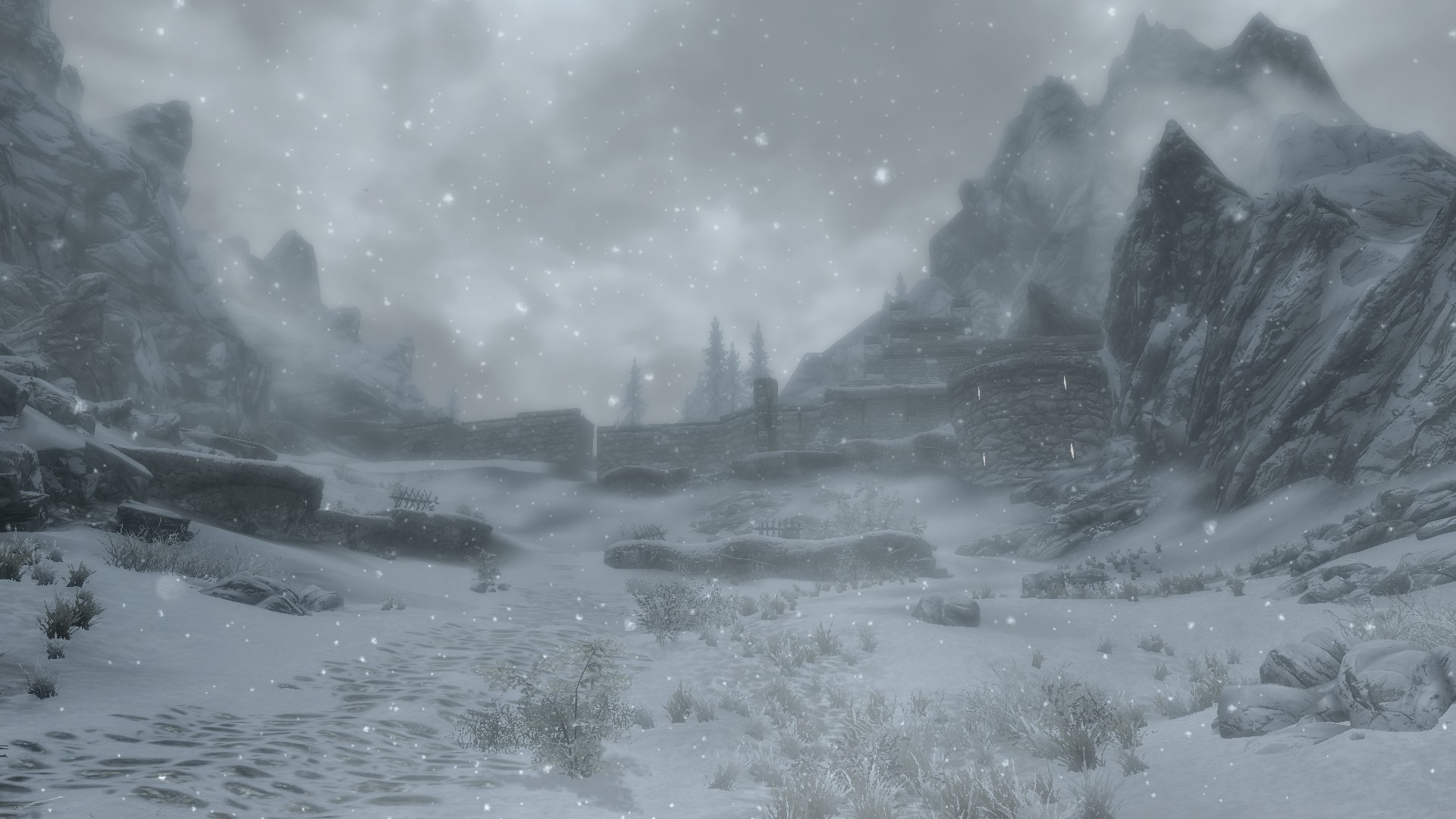 Skyrim Landscape Wallpapers 1920X1080 (78+ background pictures)