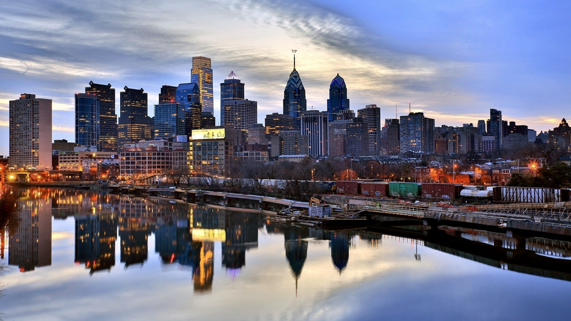 Philadelphia Skyline Wallpapers 64 Background Pictures