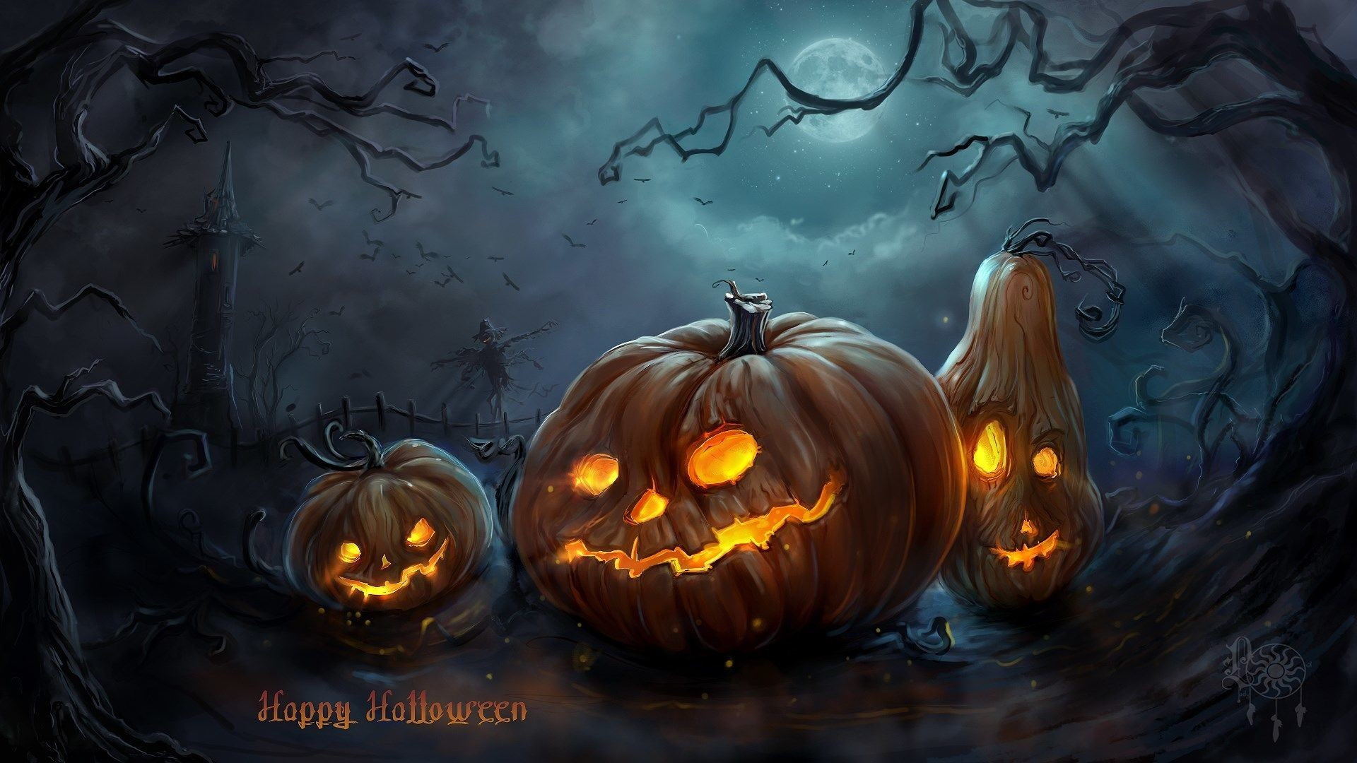 Spooky Scary Free Halloween Wallpapers Brand