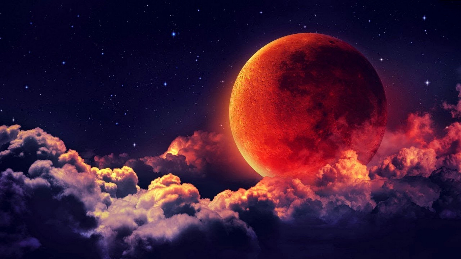 Lunar Eclipse Wallpapers 69 Background Pictures