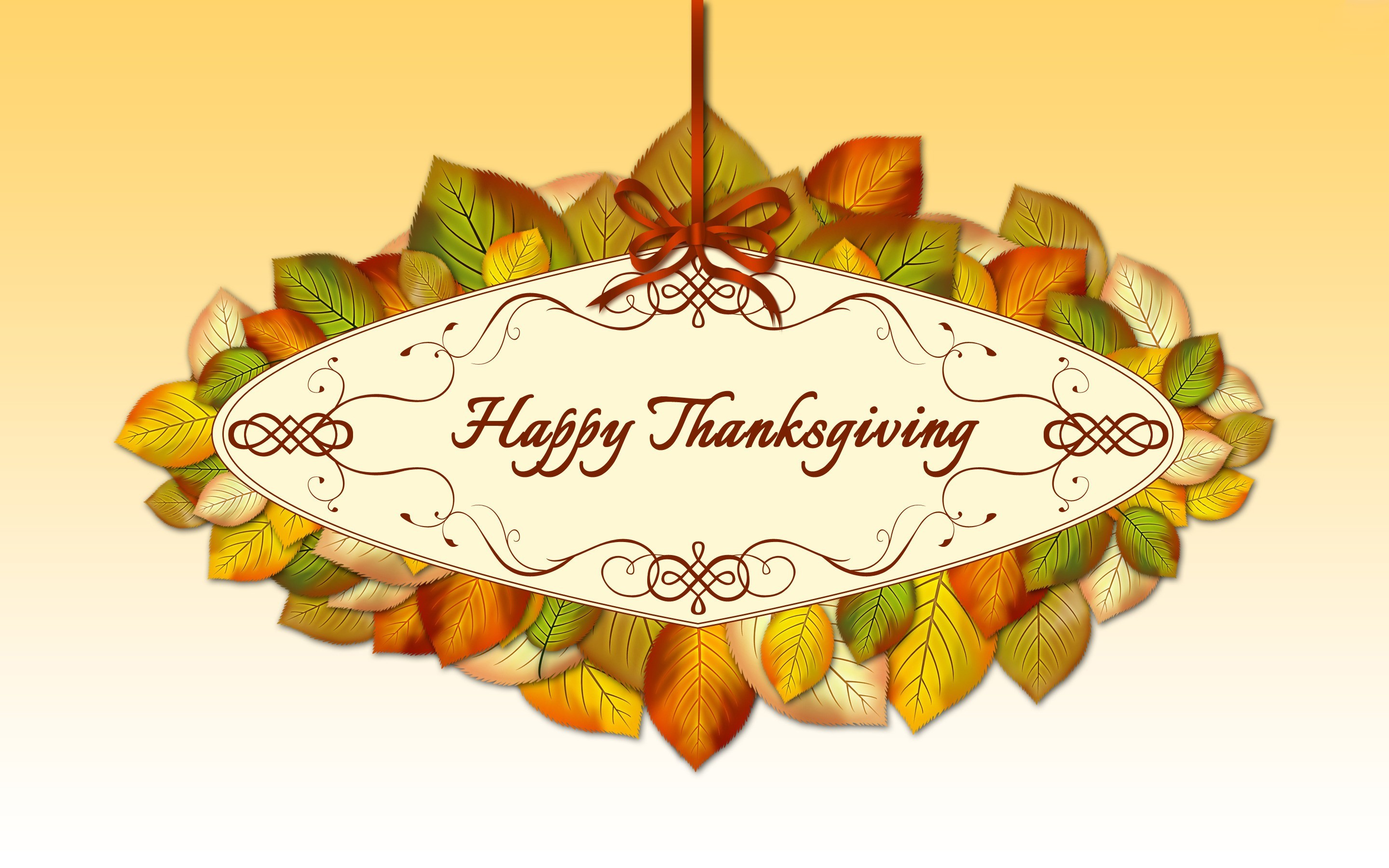 1920x1200 3D Thanksgiving Background Free Download