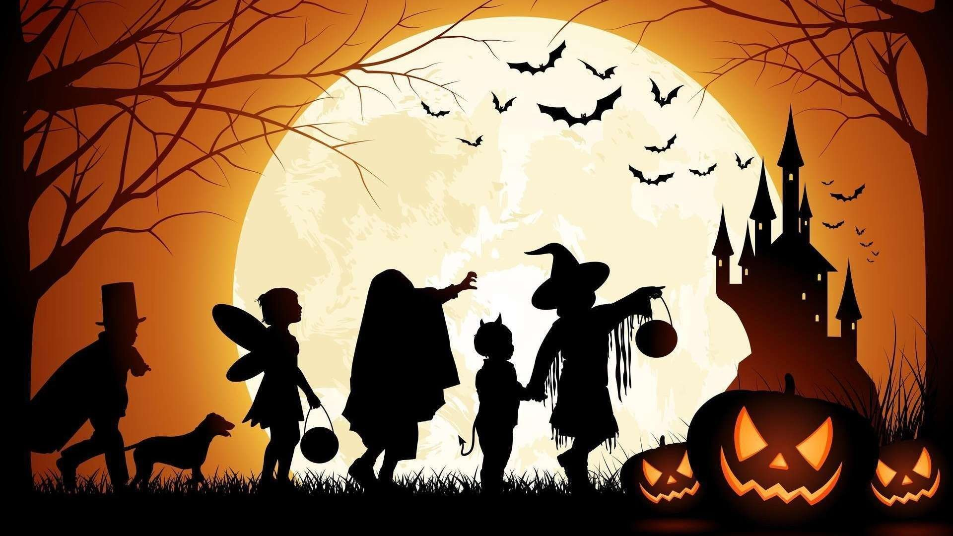 halloween wallpapers hd (86+ background pictures)