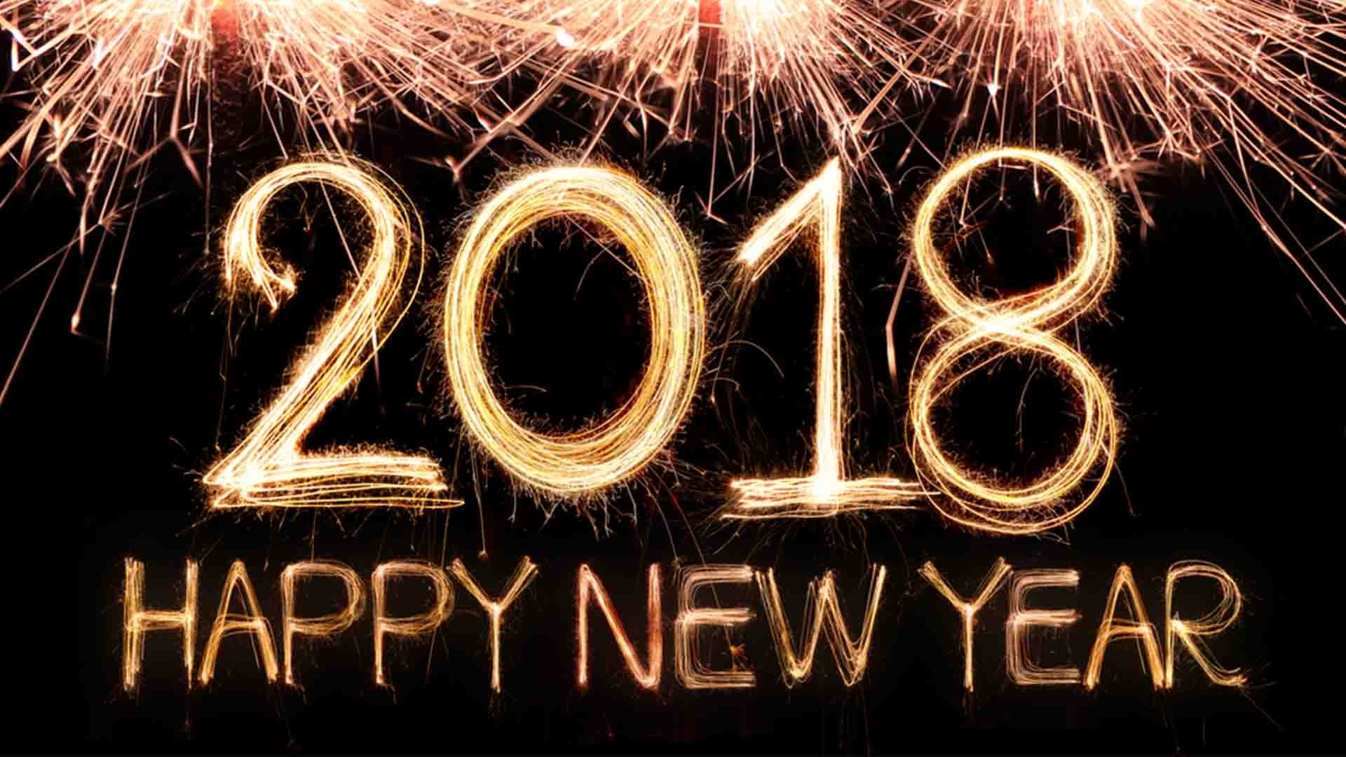 1920x1200 happy new year 2018 wallpaper