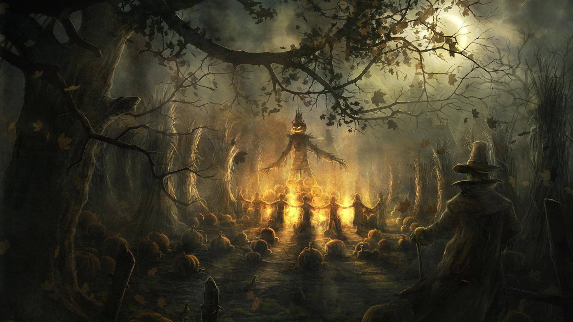 Halloween Background Hd.Scary Halloween Wallpapers Hd 68 Background Pictures