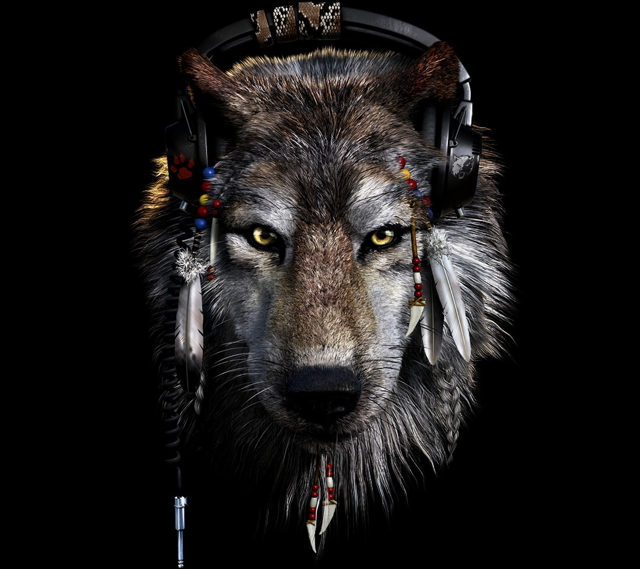 Tribal Wolf Wallpapers 63 Background Pictures