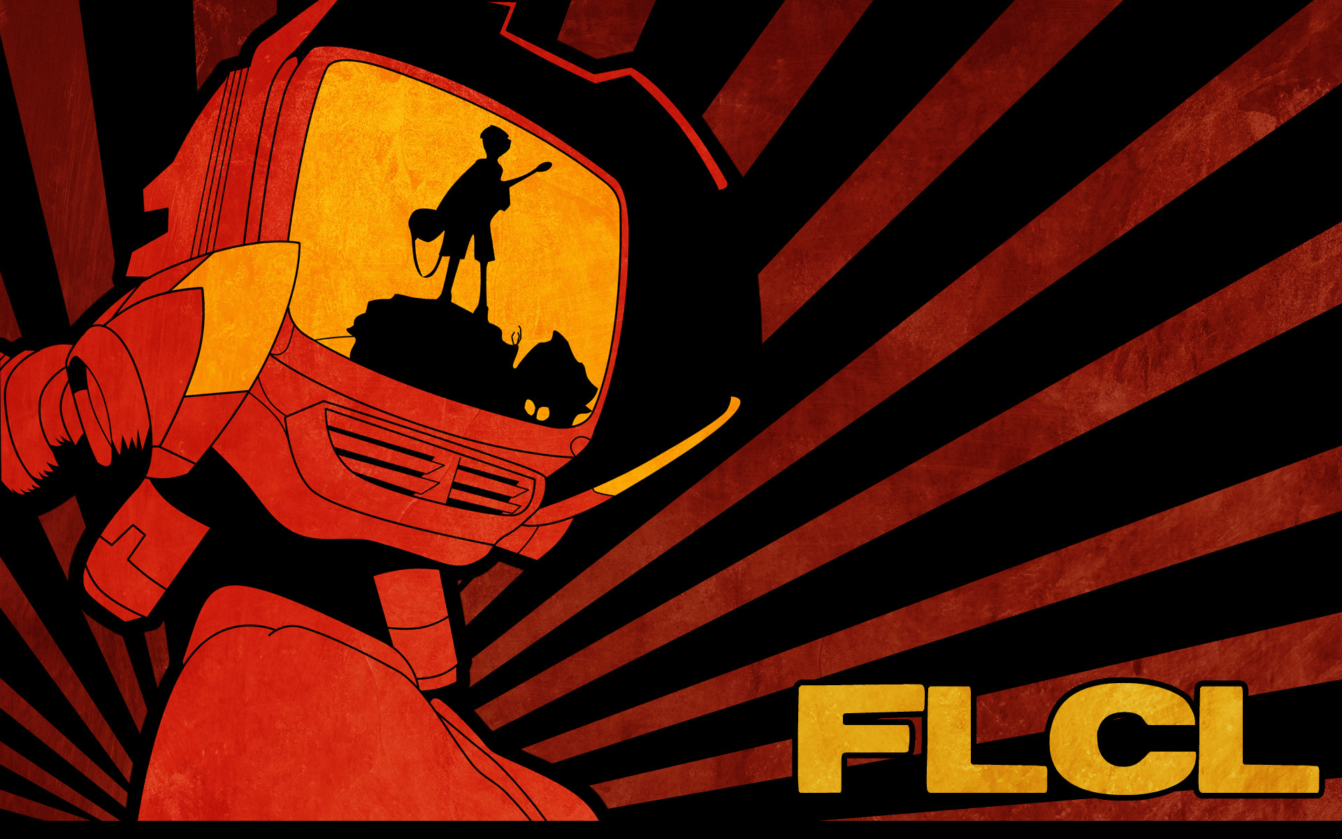 Flcl wallpapers 64 background pictures - Flcl wallpaper ...
