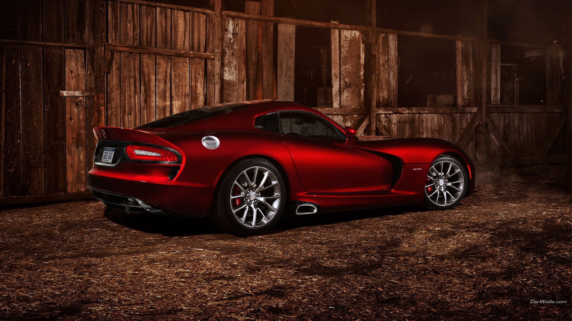 1920x1080 2017 Dodge Challenger Alamogroup In Viper GTS Redesign