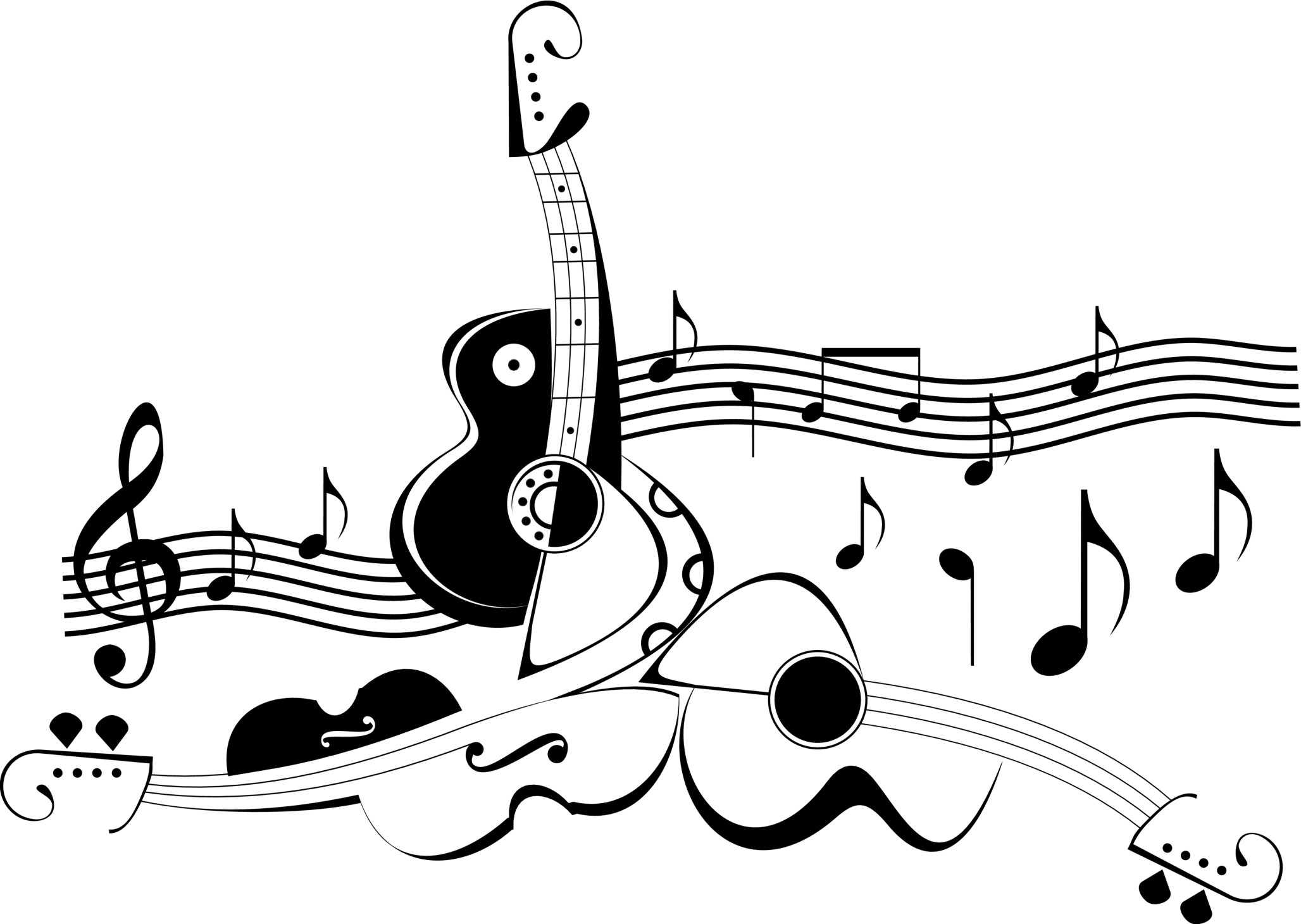 Musical Notes Wallpapers 68 Background Pictures Wallpaper Electric Guitar Plan Diagram Drawing Music Full High Definition Neon Keli Locascio