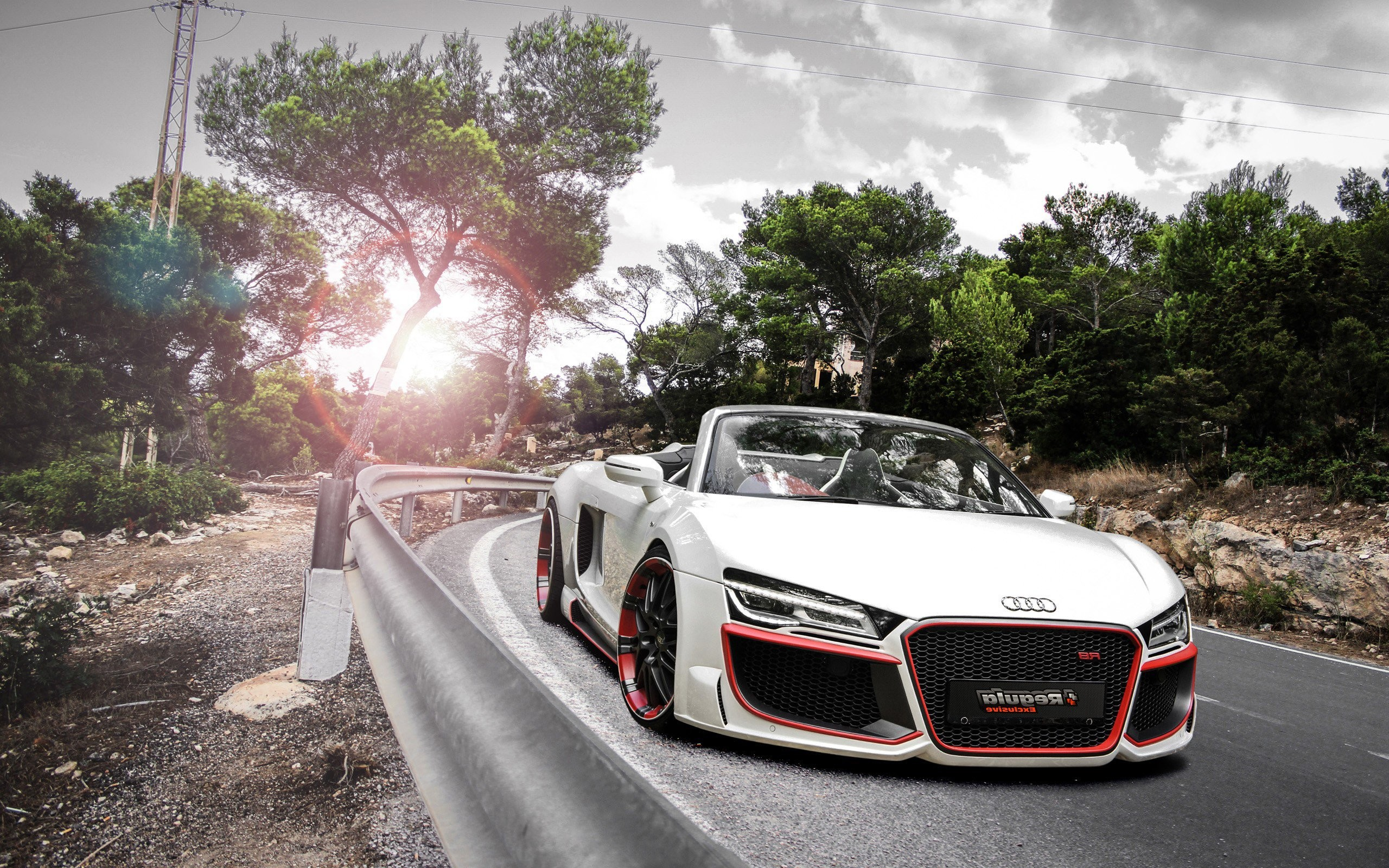 Audi R8 Spyder 2018 Wallpapers 63 Background Pictures