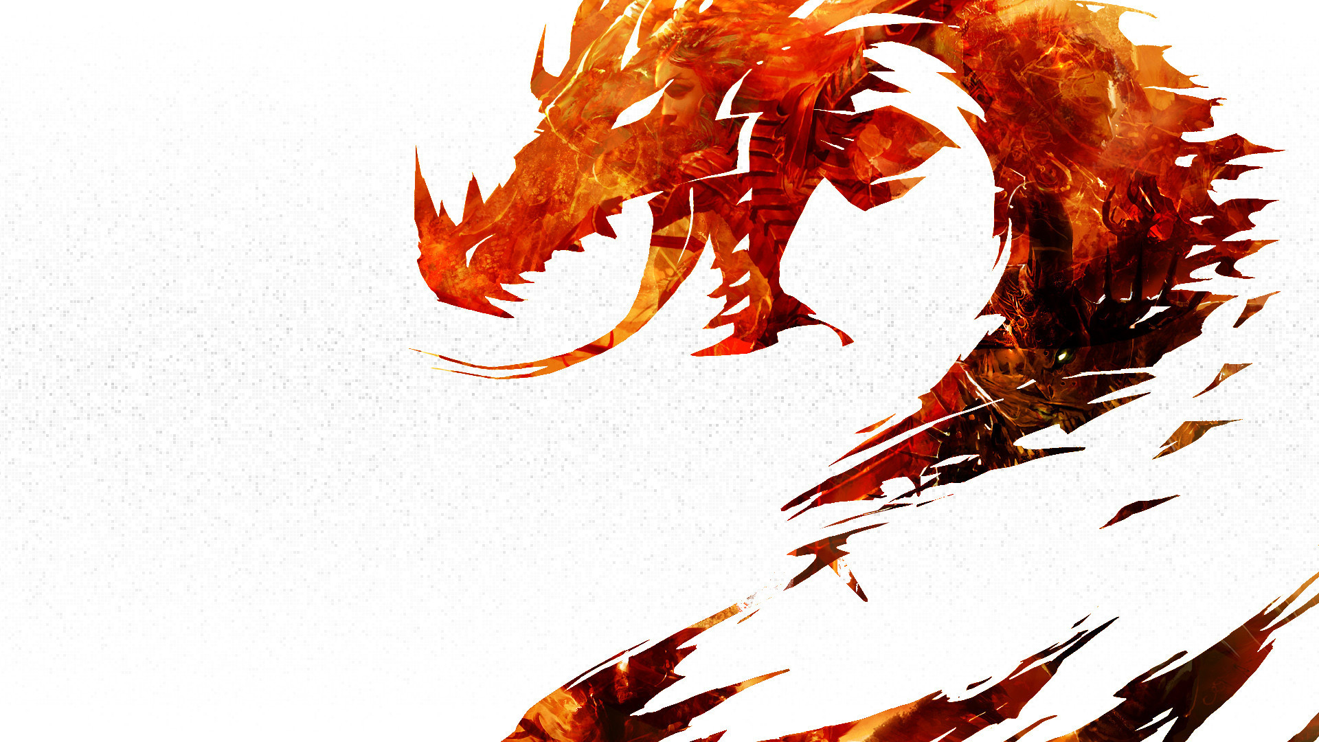 1920x1080 Chinese Dragon On A Black Background Wallpapers And Images