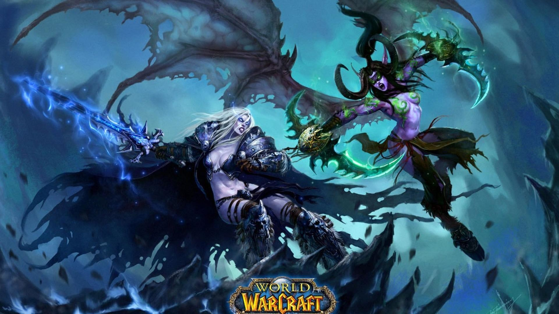 1920x1080 Awesome World Of Warcraft Game Wallpaper