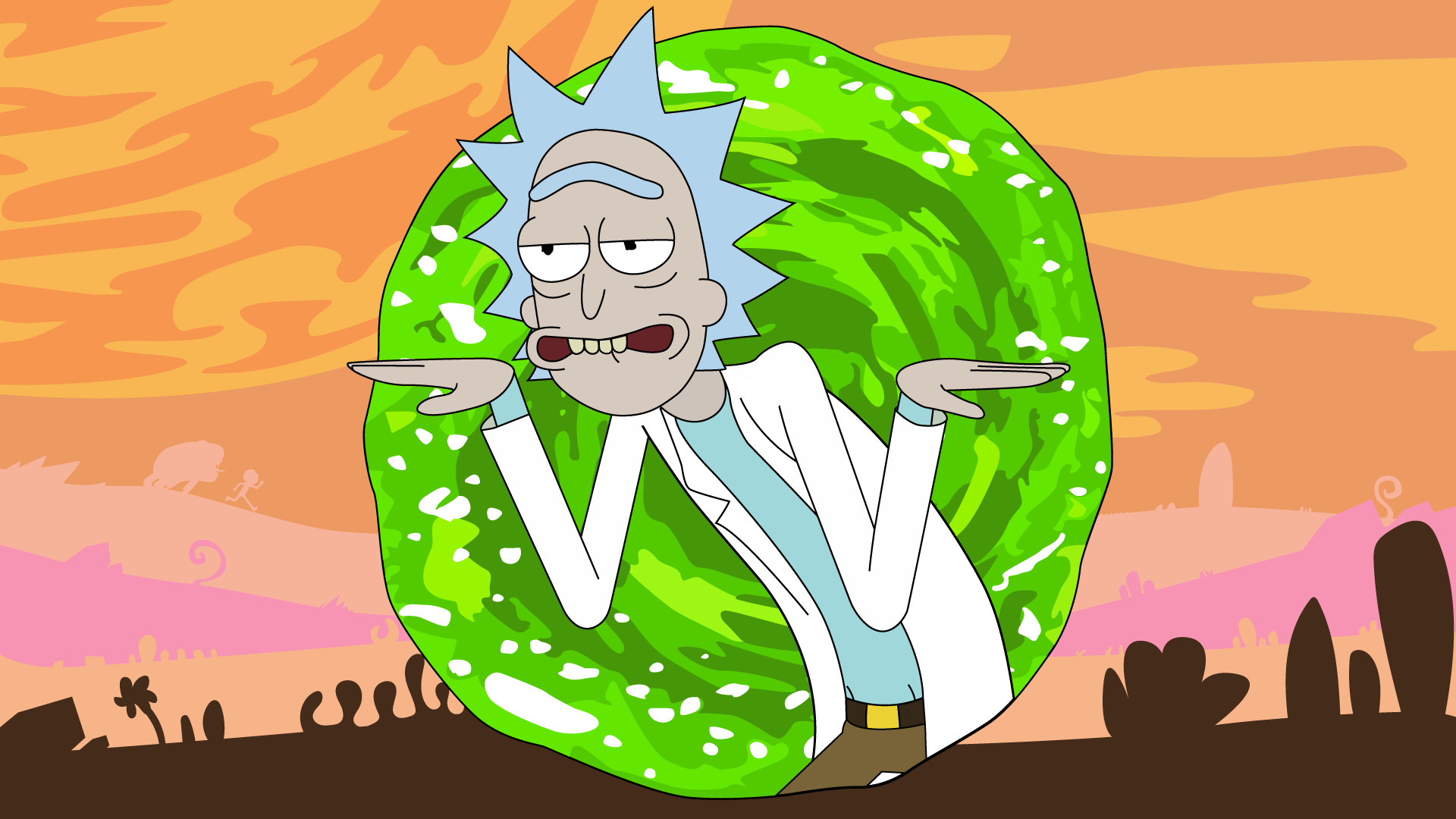 1920x1080 Rick and morty animated series wallpaper