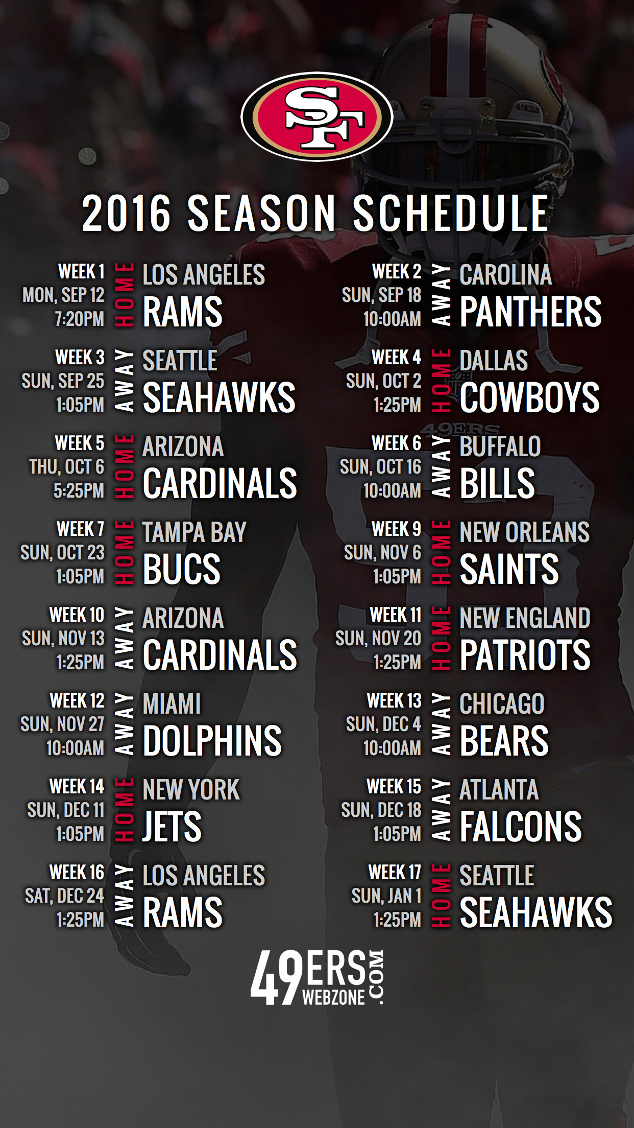 photo about 49ers Schedule Printable known as San Francisco 49Ers Wallpapers (74+ historical past photographs)