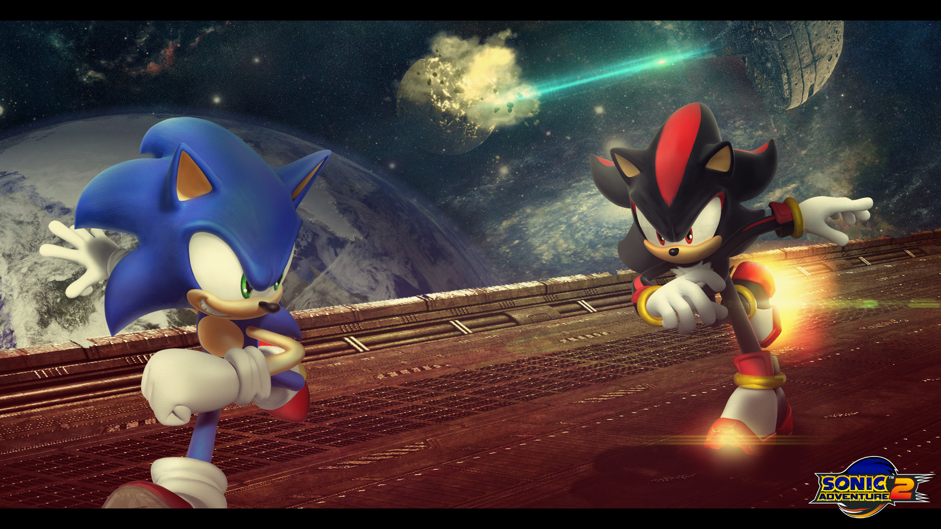 2000x1230 HQ Sonic Adventure 2 Wallpapers
