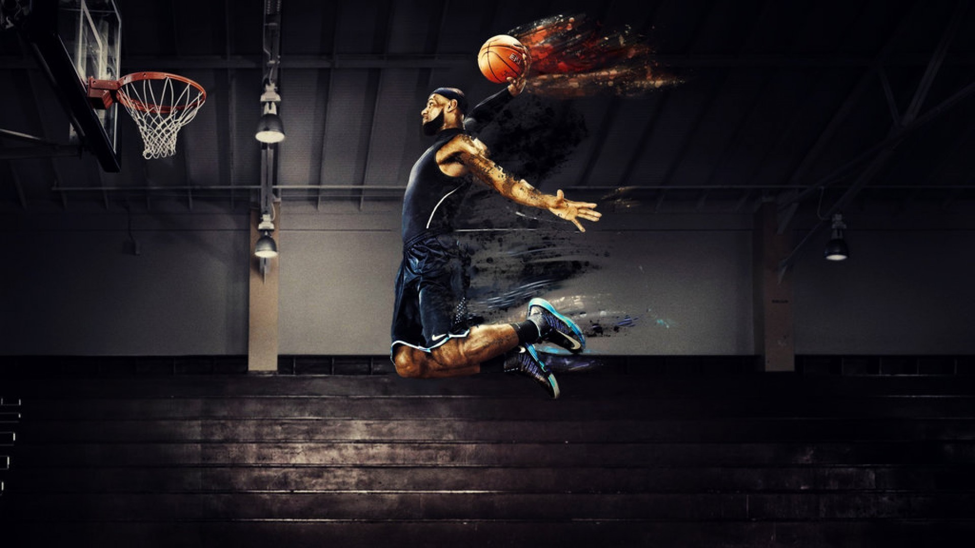 Lebron James Wallpapers Dunk 77 Background Pictures