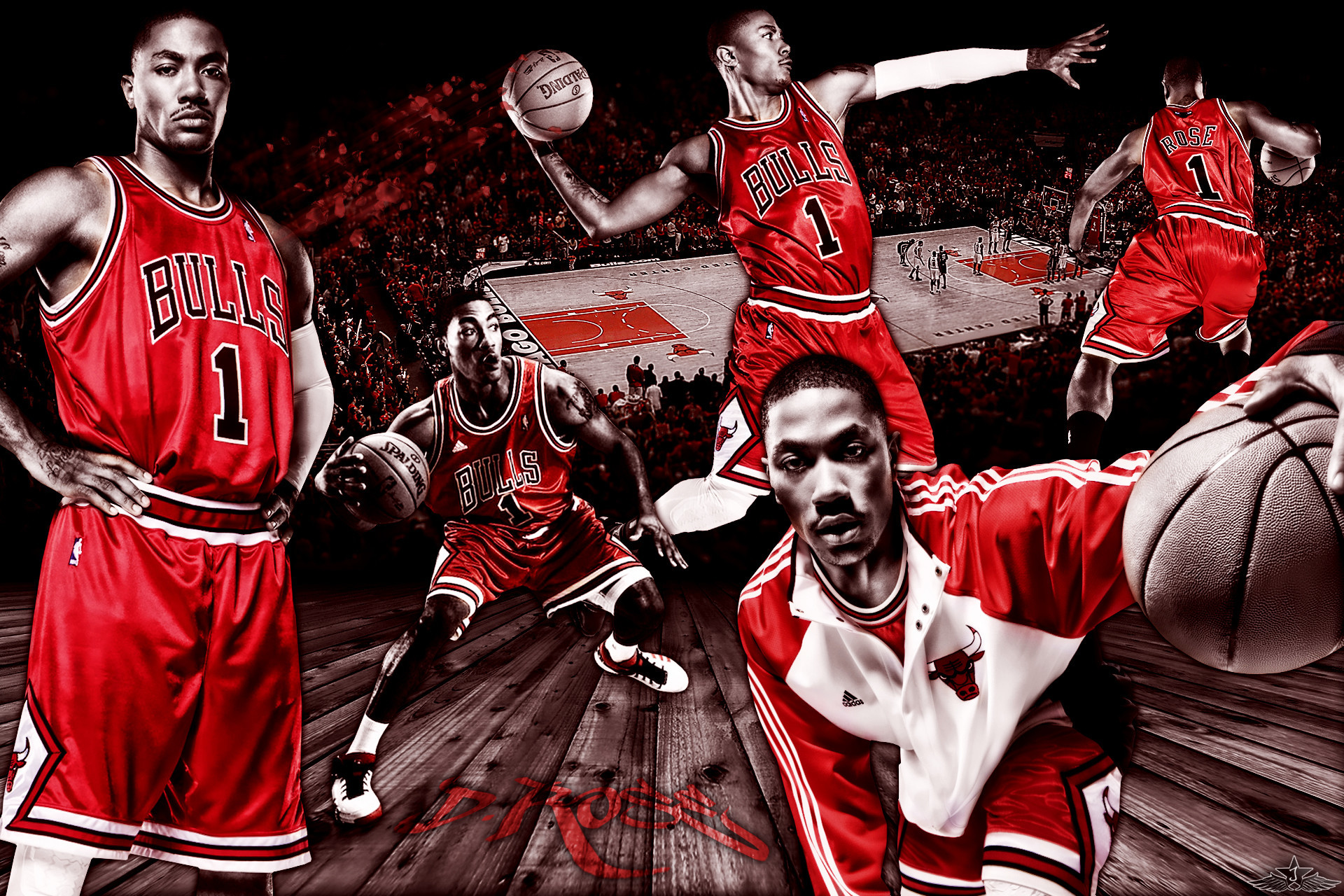Derrick Rose Wallpapers HD 2018 (80+ background pictures)