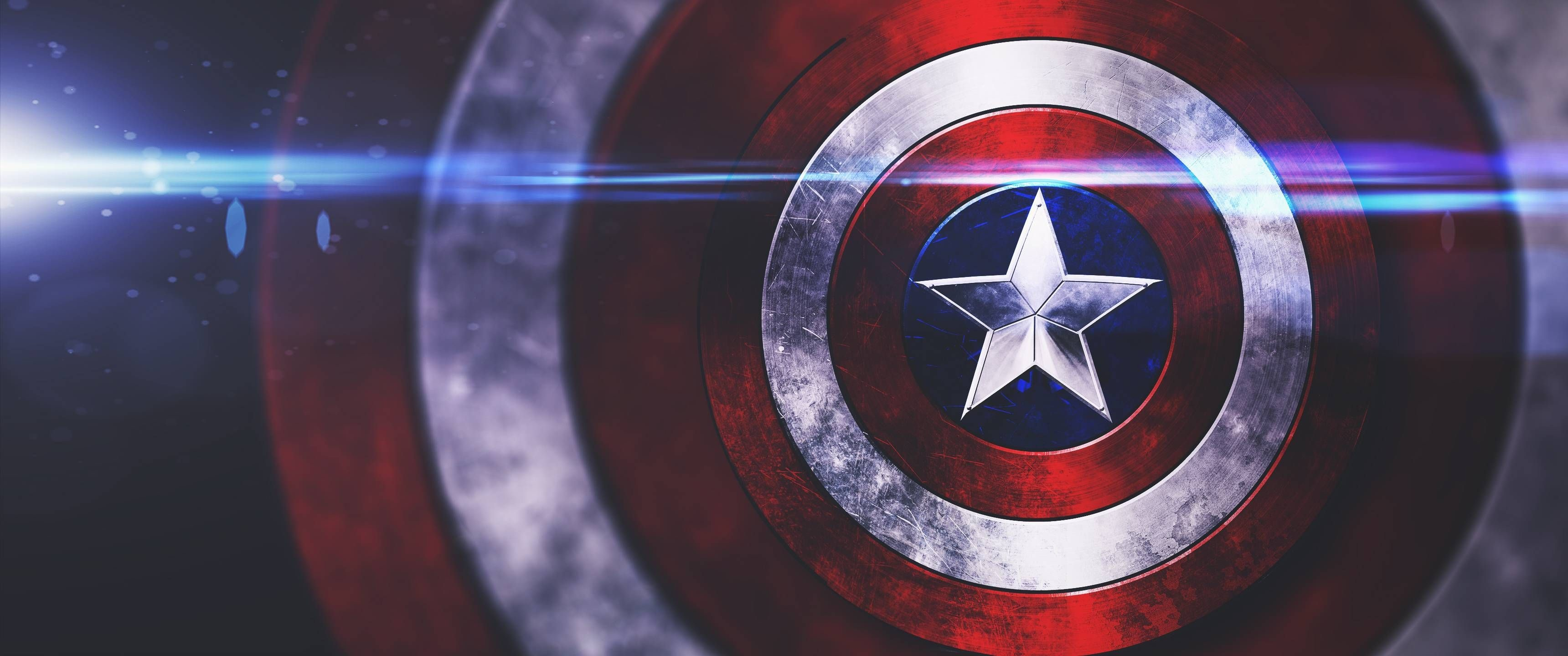 Captain America Logo Wallpaper