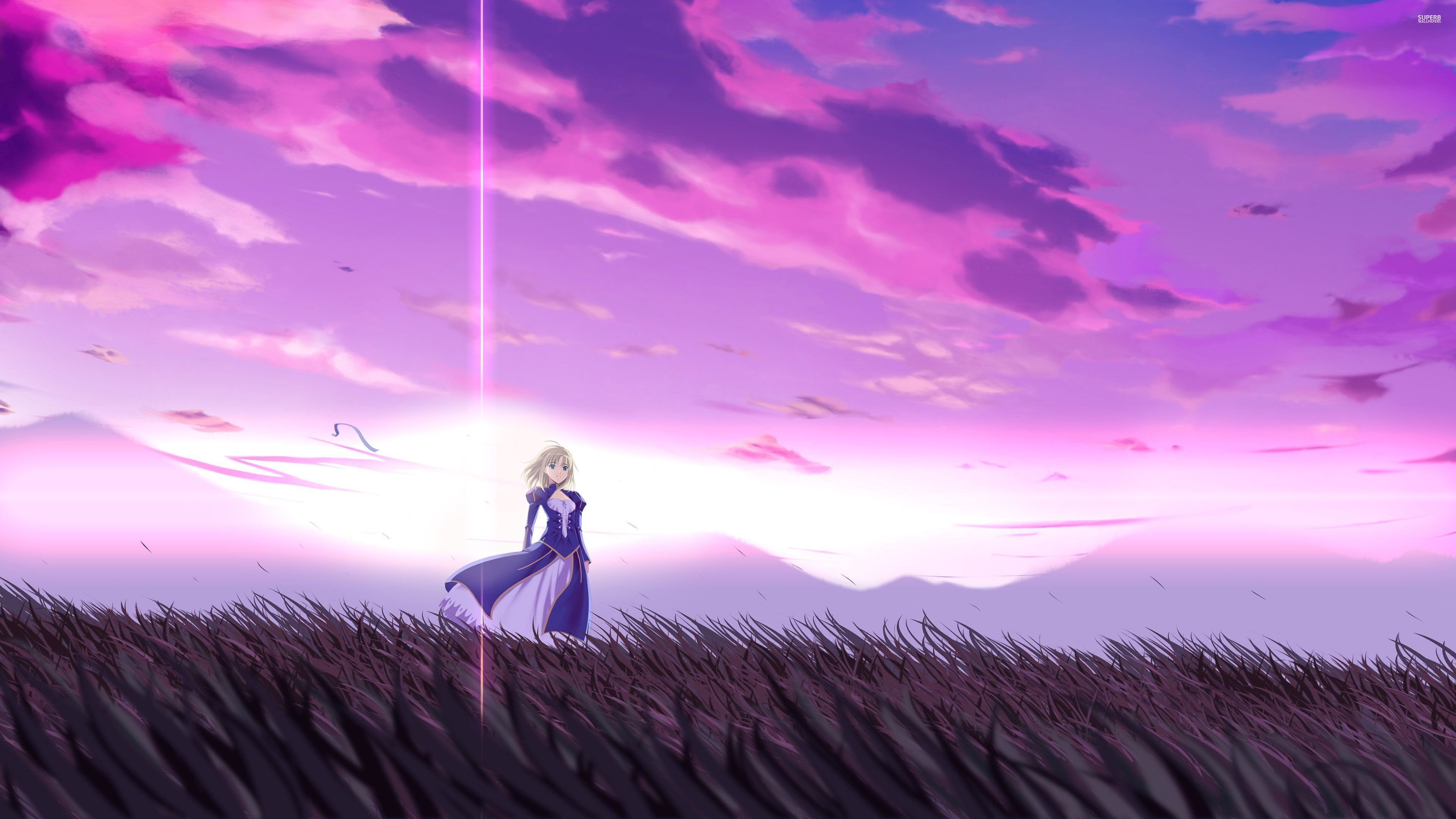 fate stay night unlimited blade works wallpapers (80+ background
