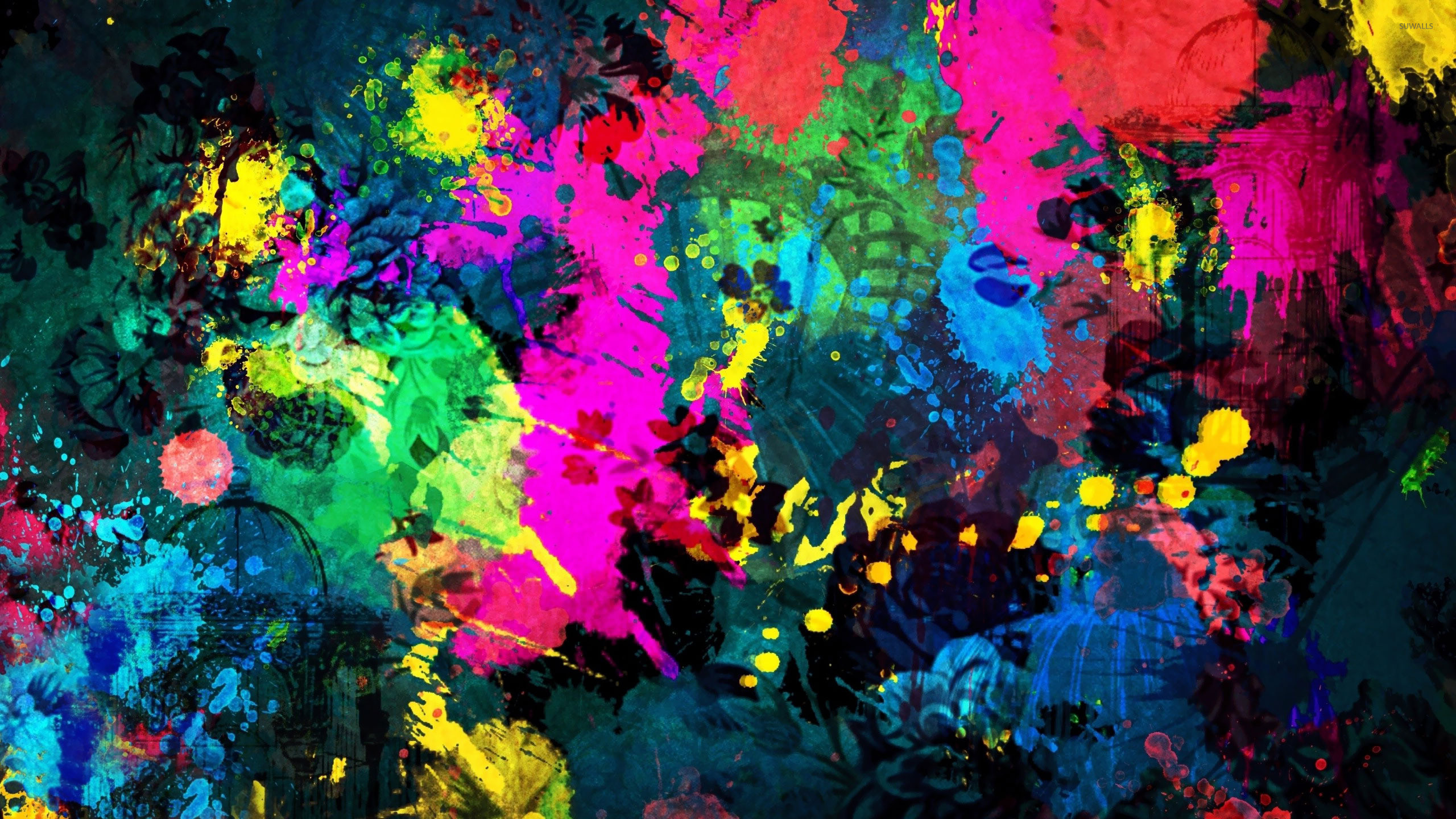 splatter paint wallpapers (74+ background pictures)