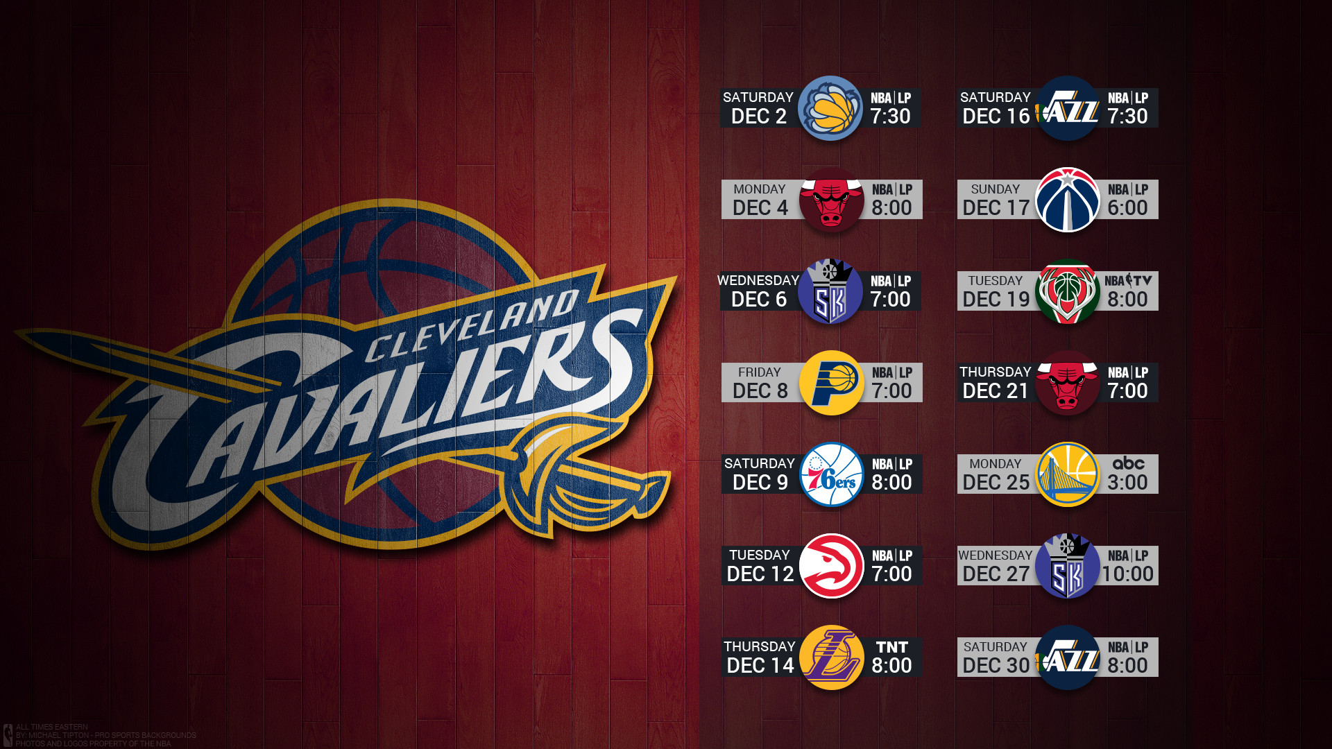 1920x1080 Cleveland Cavaliers cavs 2017 schedule NBA BASKETBALL logo wallpaper free pc desktop computer