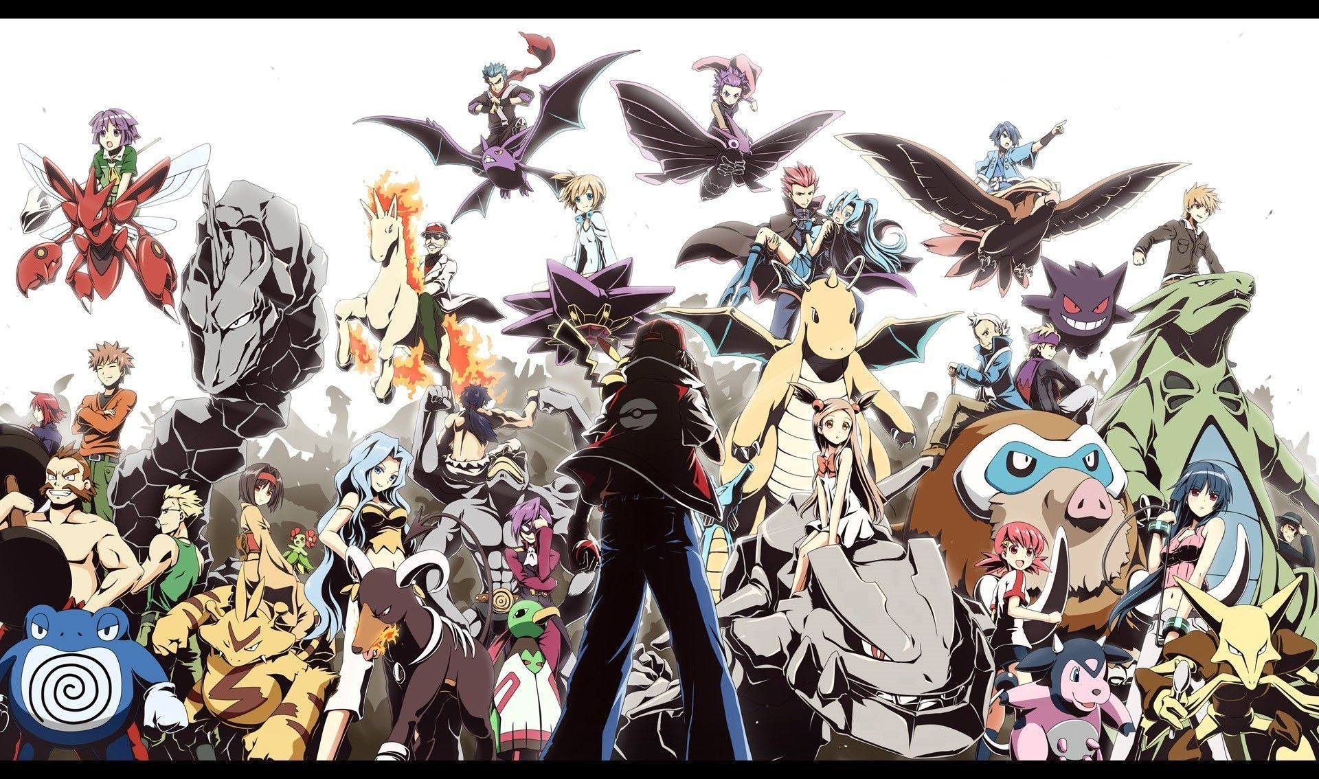 2560x1440 Pokemon Red Wallpapers Hd Resolution