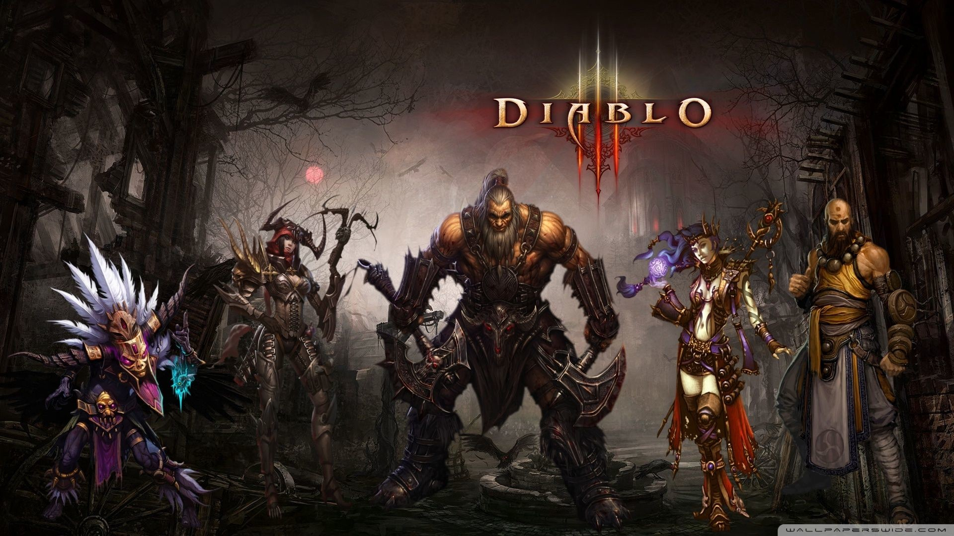 Diablo 3 Barbarian Wallpapers 1920X1080 (74+ background pictures)