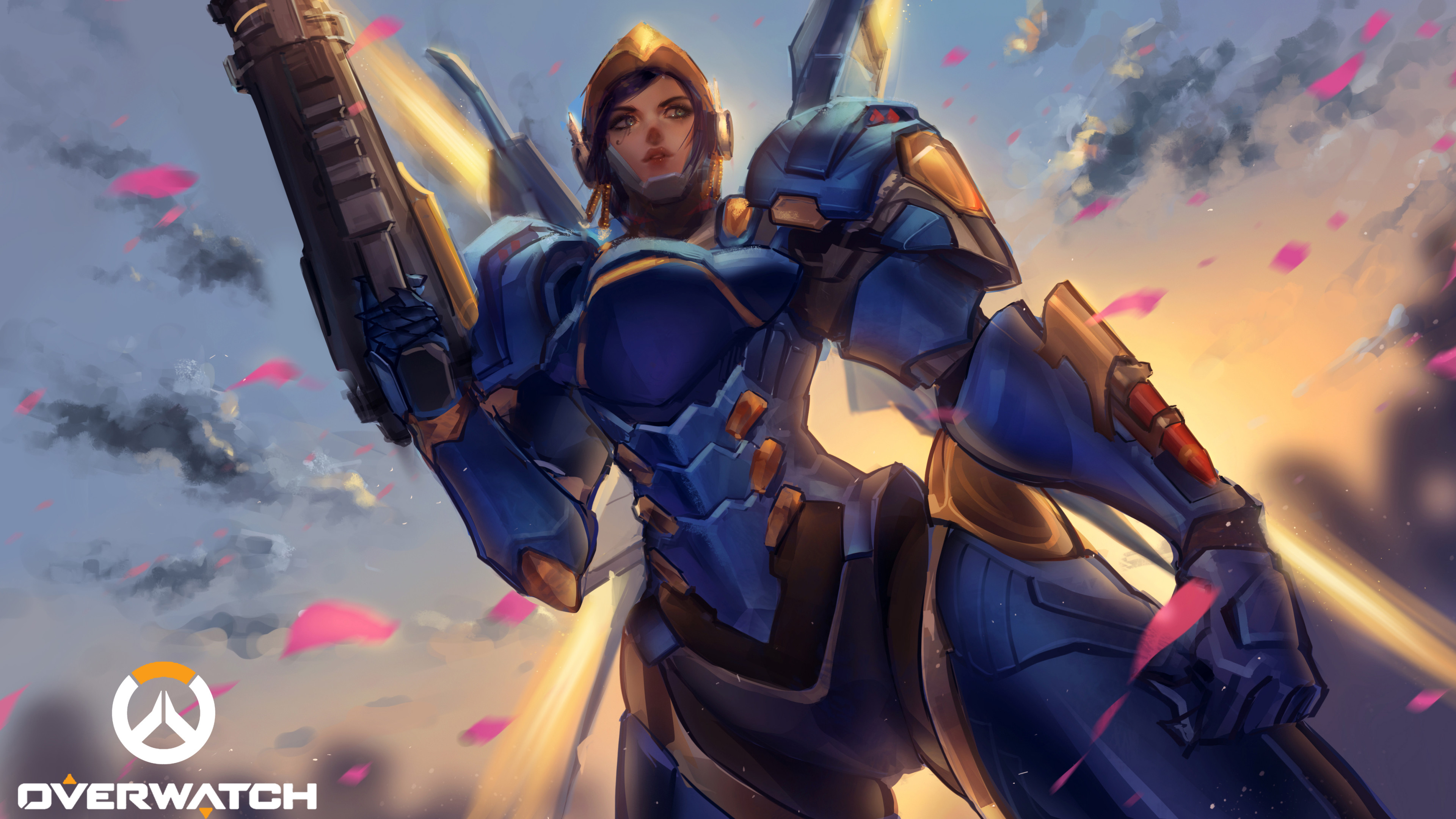 Pharah wallpapers 77 background pictures - Overwatch wallpaper 4k ...