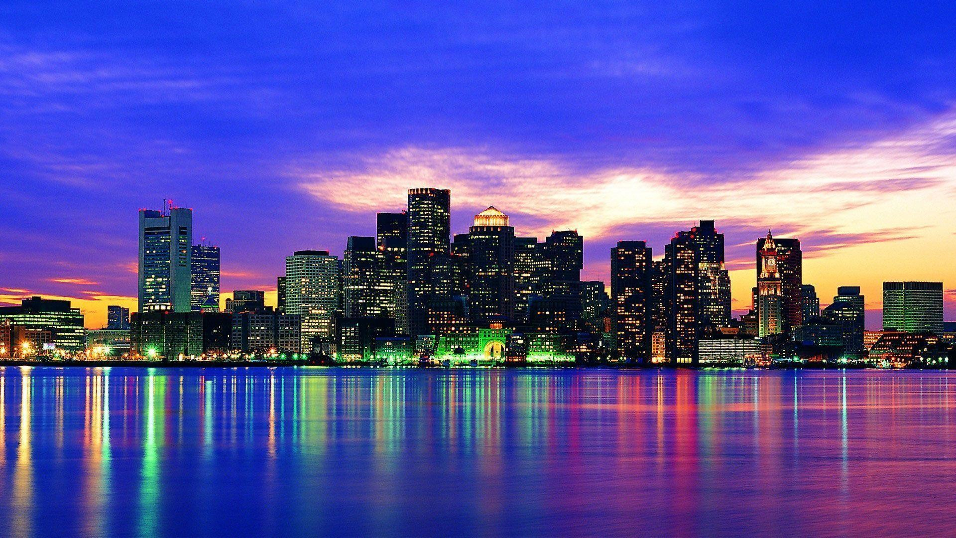 1920x1200 New York City Lights Wallpapers Group 75