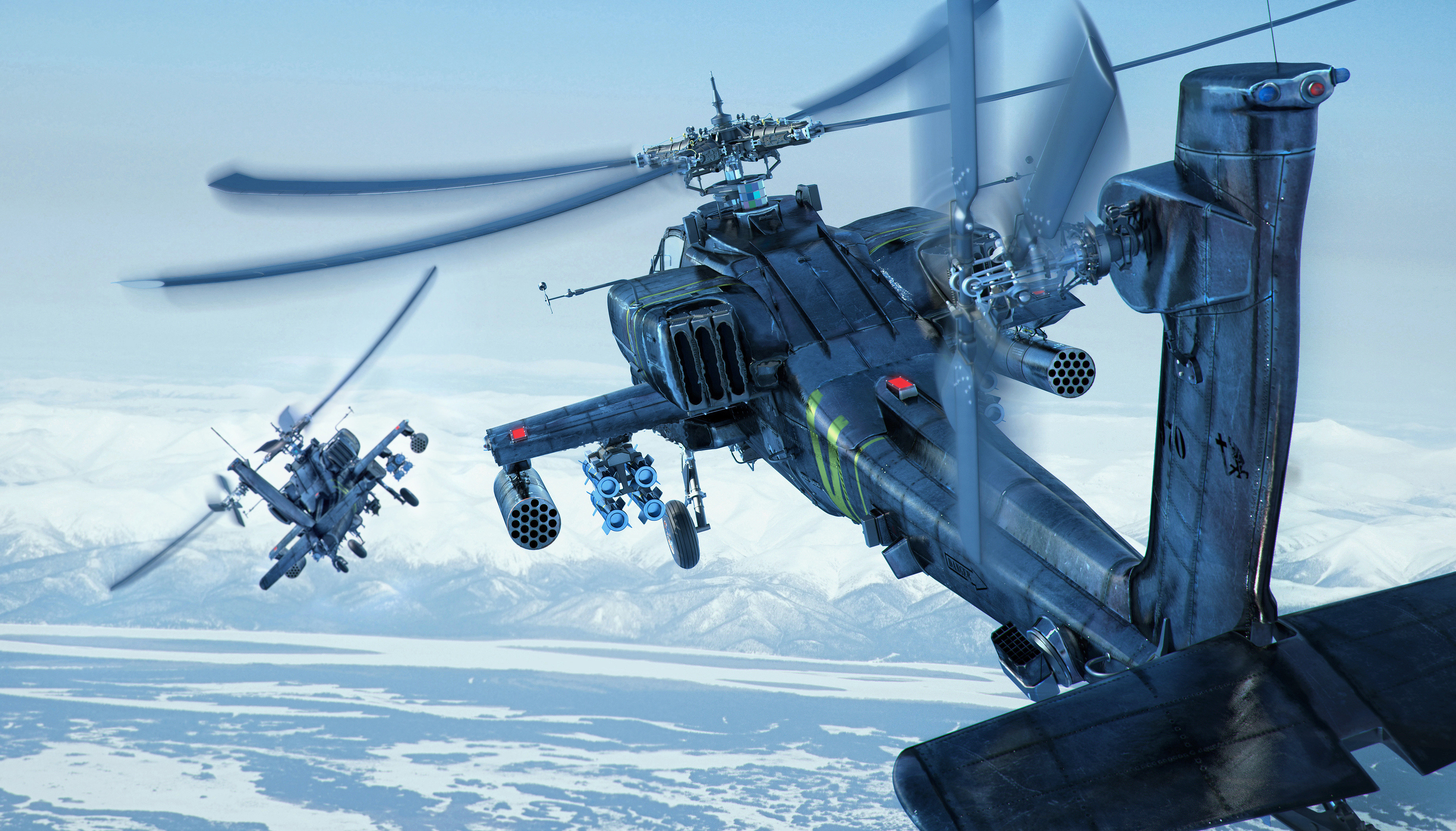 3700x2113 Apache Helicopter Wallpaper High Definition