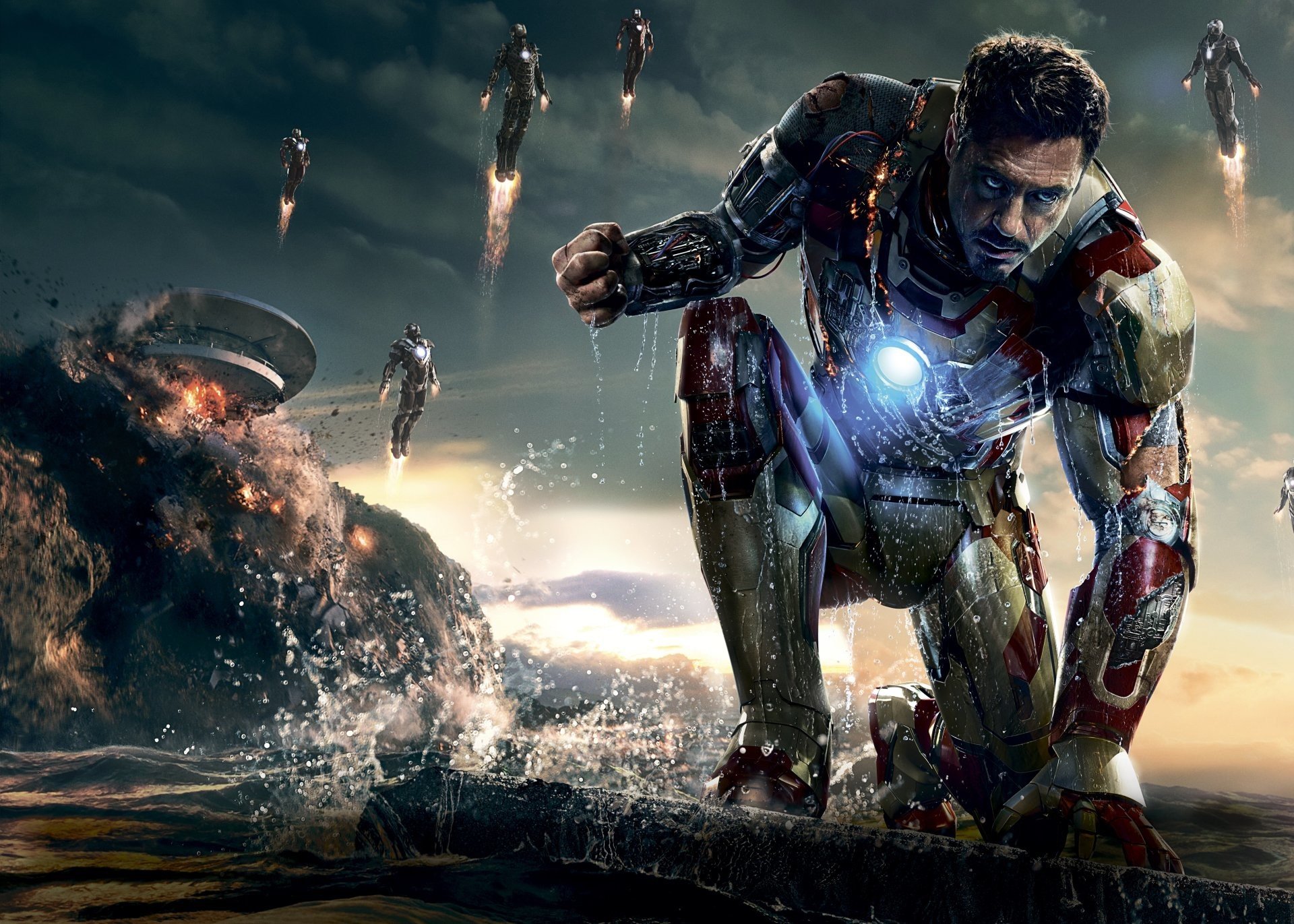 Iron Man 3 Hd Wallpapers High Resolution: HD Wallpapers Iron Man 3 (76+ Background Pictures