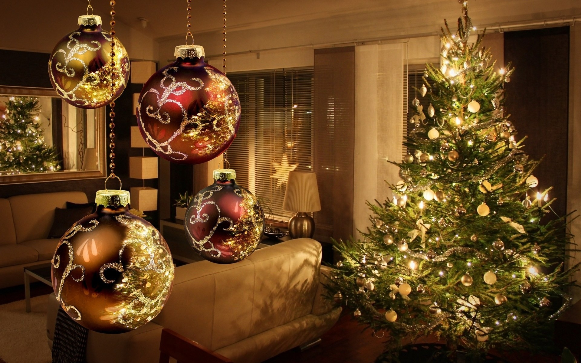 wallpapers christmas desktop (69+ background pictures)