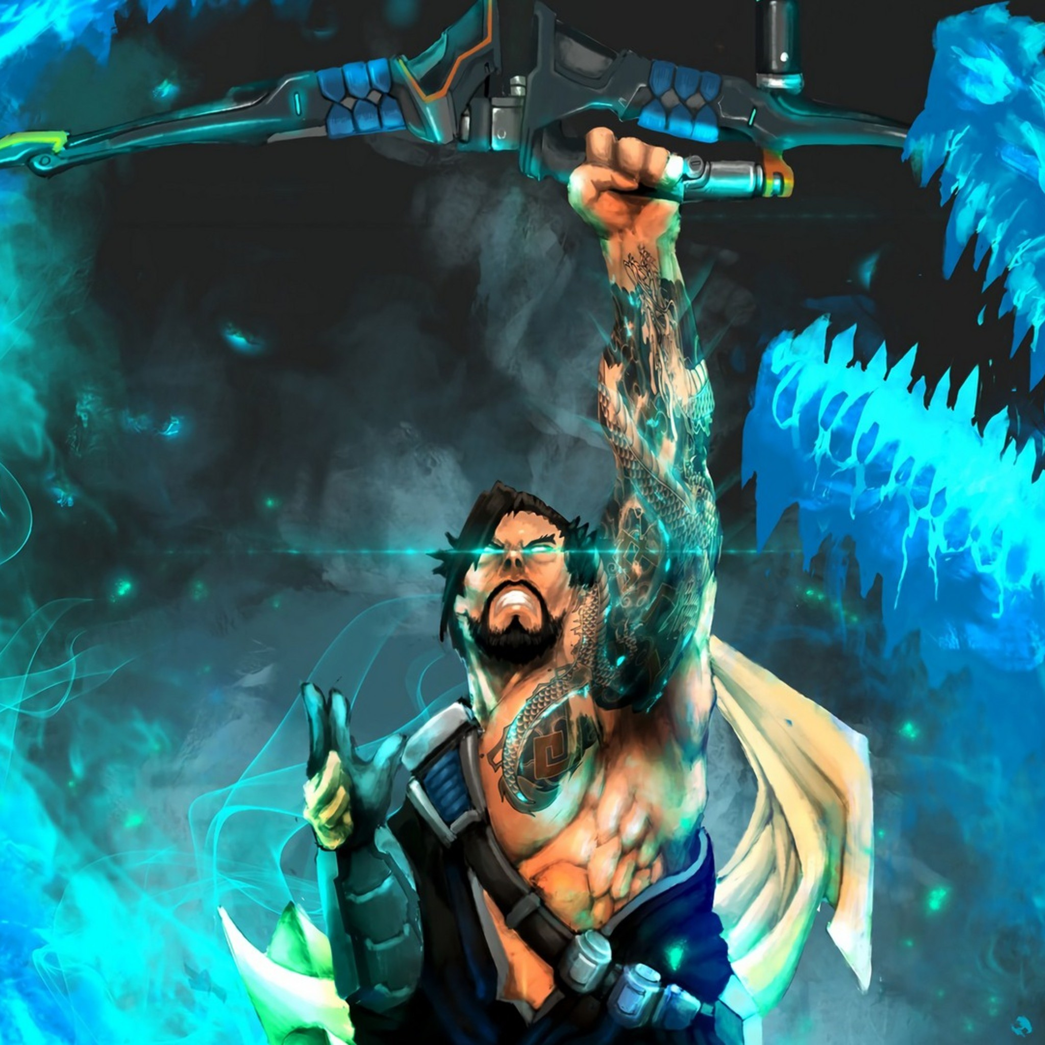 Hanzo Wallpaper: Overwatch Hanzo Wallpapers (73+ Background Pictures