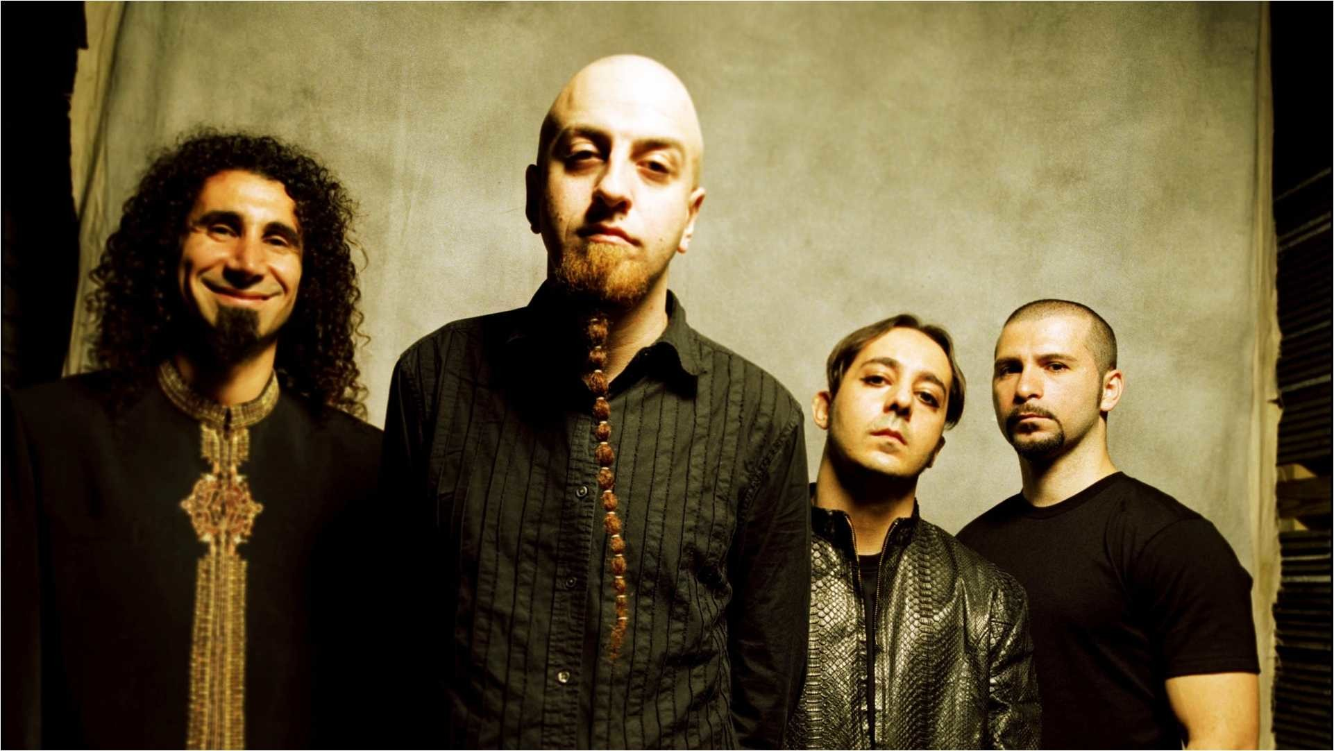 3840x1200 Download Wallpaper System Of A Down Band Members