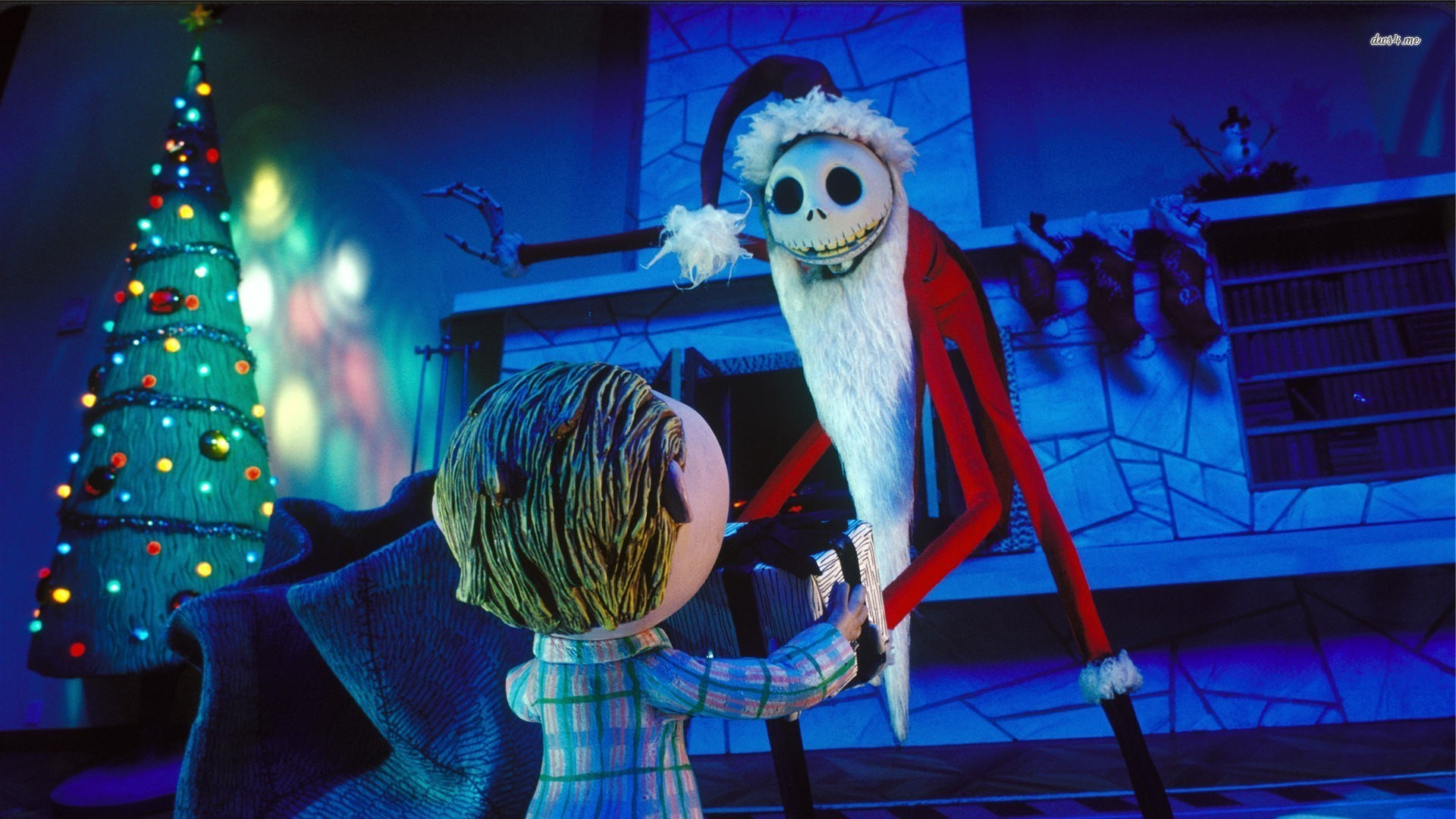 nightmare before christmas wallpaper 1920x1080
