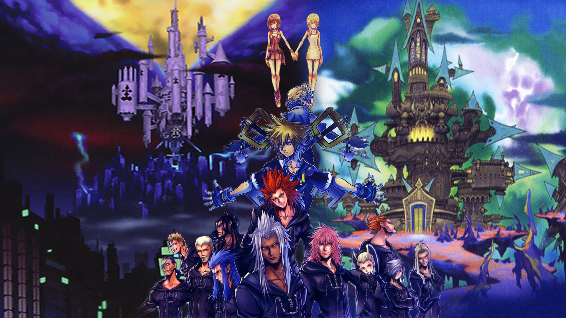 Kingdom Hearts 2 Wallpapers (75+ background pictures)