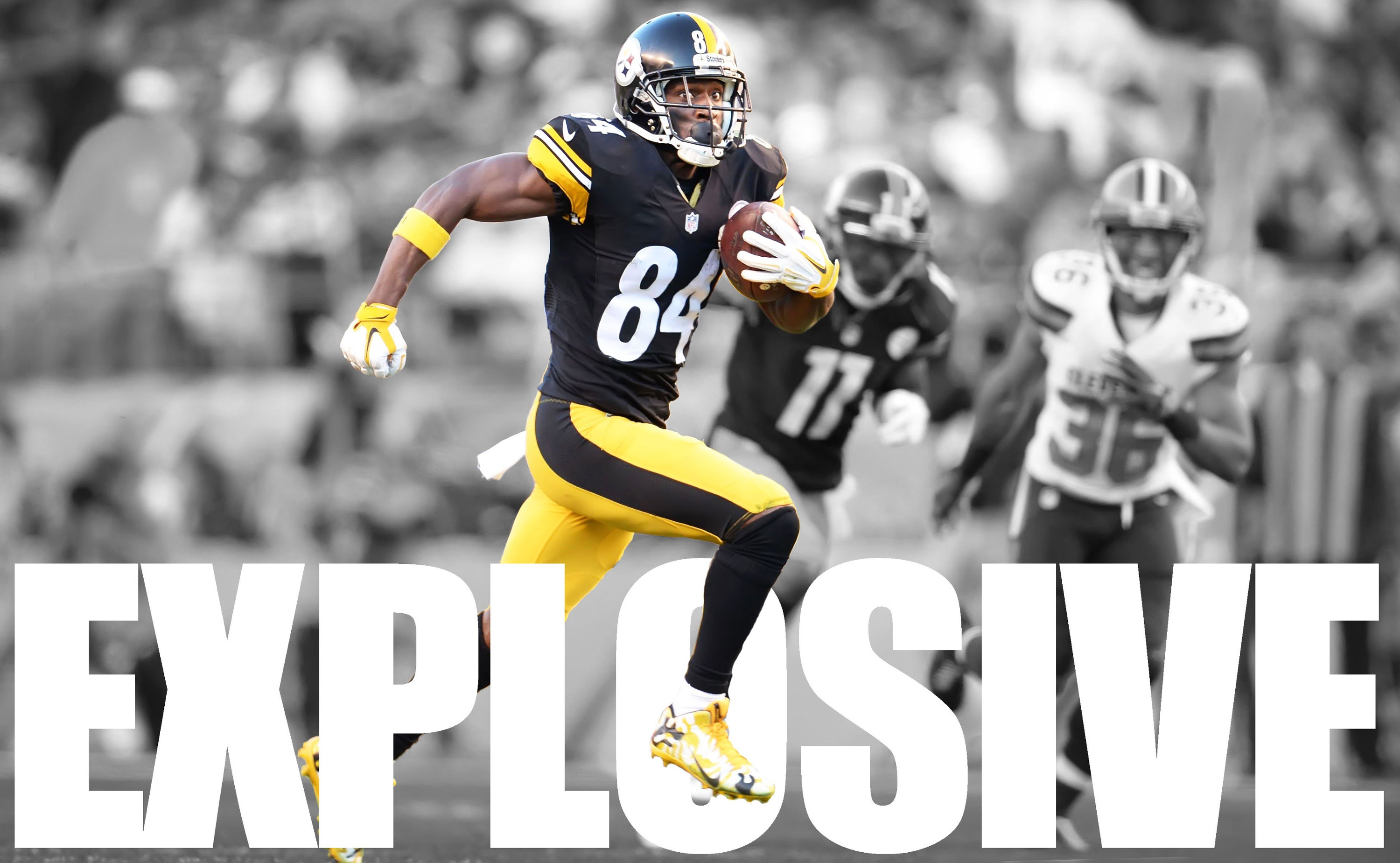 antonio brown jersey wallpaper