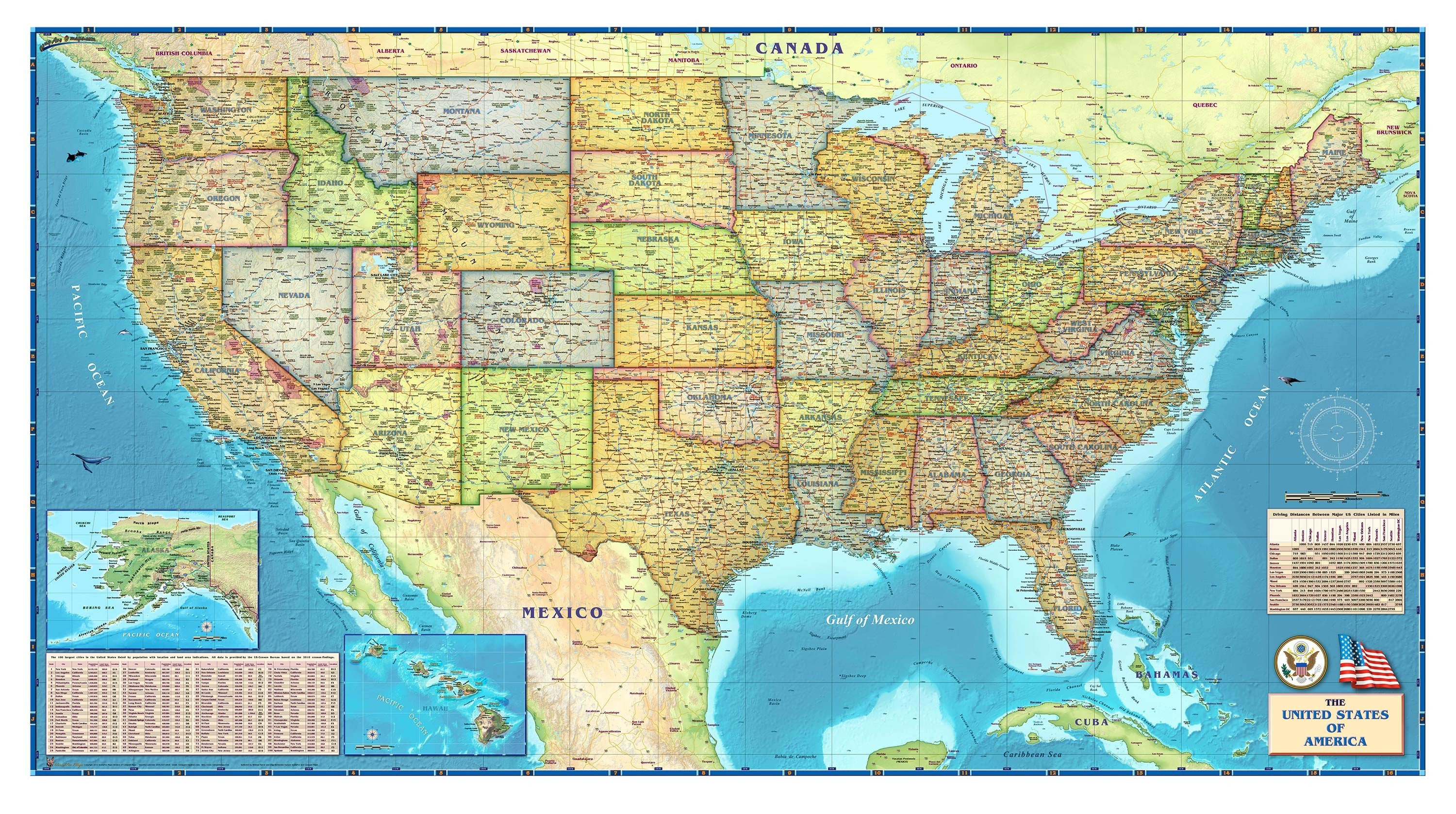 Us Map Wallpapers Background Pictures - Us map wallpaper desktop