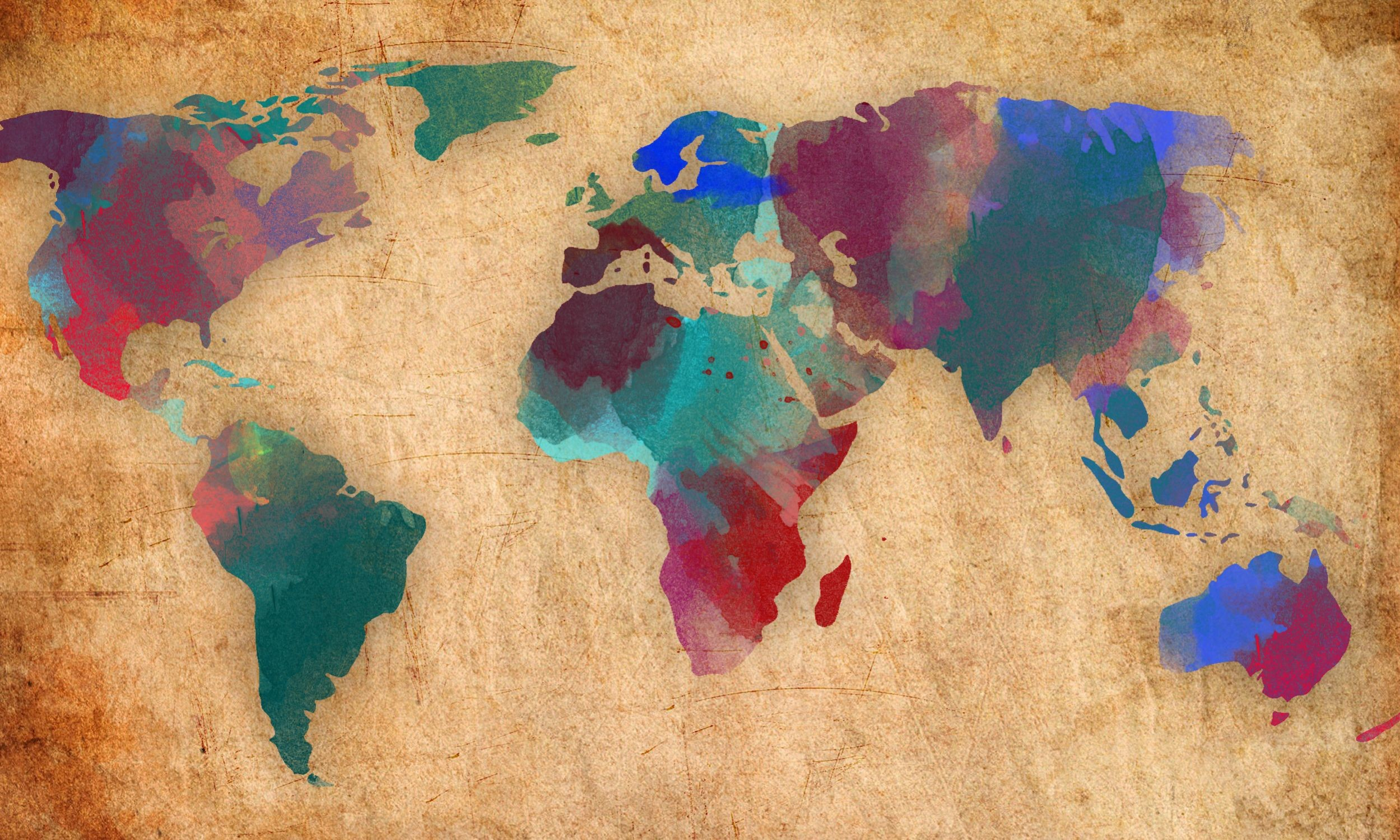 World Map Wallpapers (66+ background pictures)