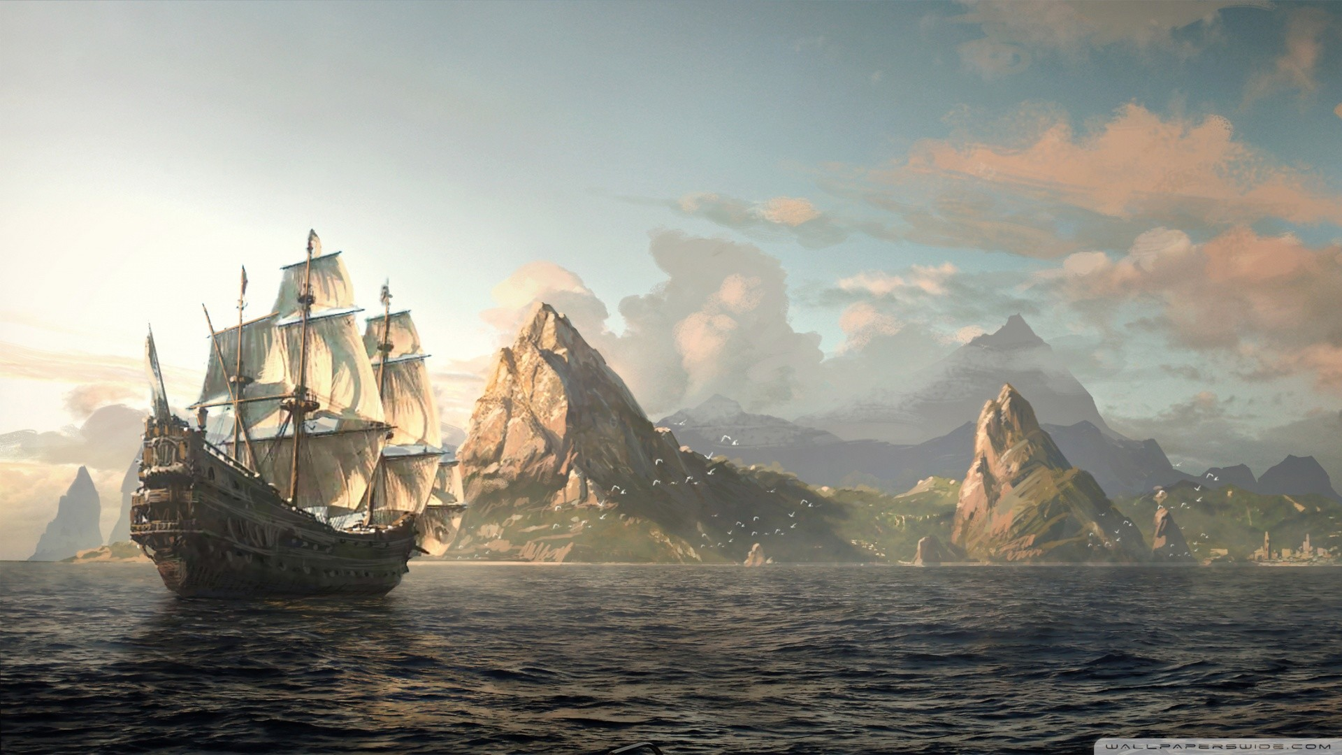 black flag wallpaper  Ac4 Black Flag Wallpapers (78  background pictures)