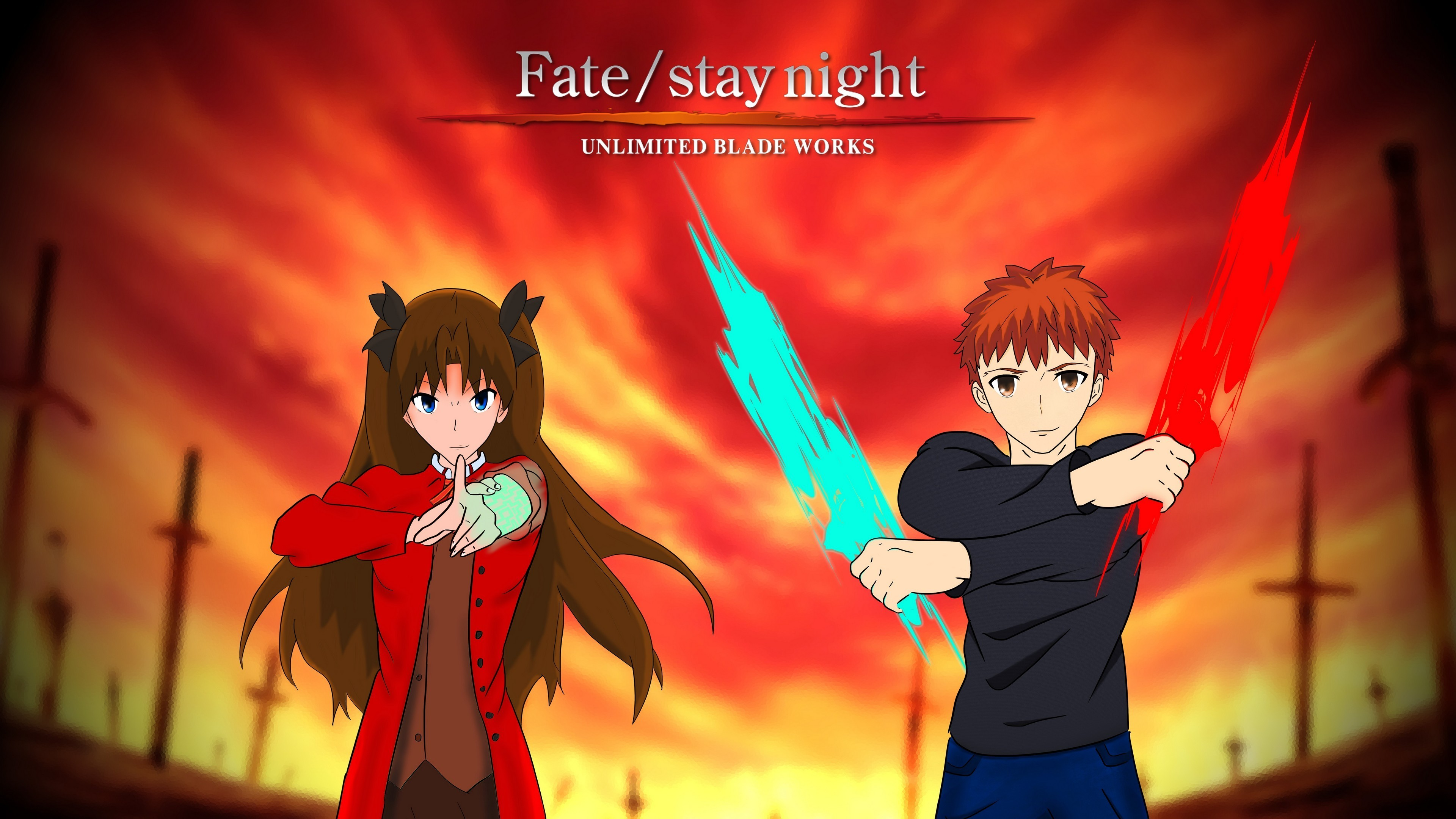 Fate Stay Night Unlimited Blade Works Wallpapers (80+